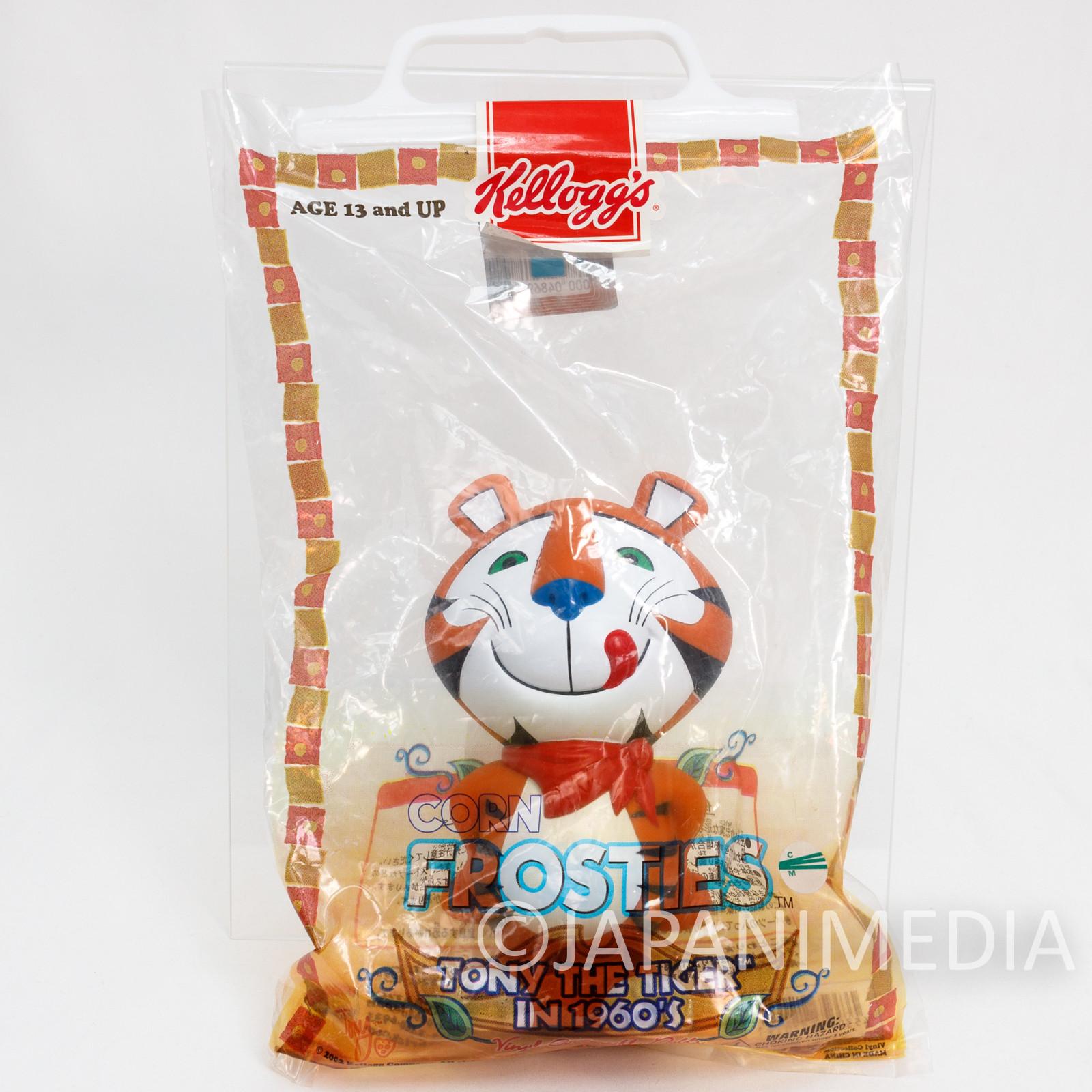 Tony the Tiger Kellogg's Corn Frosties Soft Vinyl Figure VCD Medicom Toy JAPAN