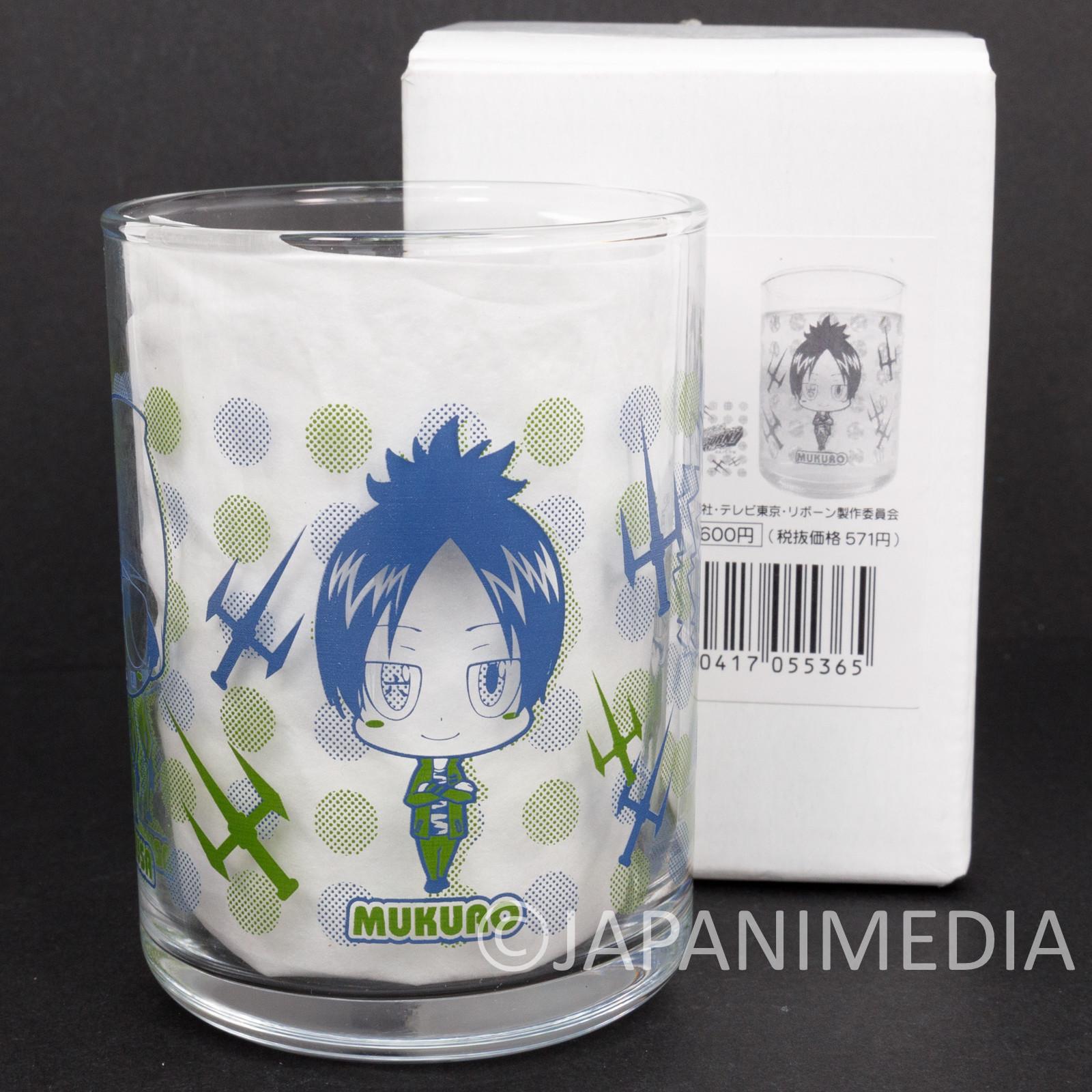 Katekyo Hitman Reborn Kokuyo Junior High School Glass JAPAN ANIME SHONEN JUMP