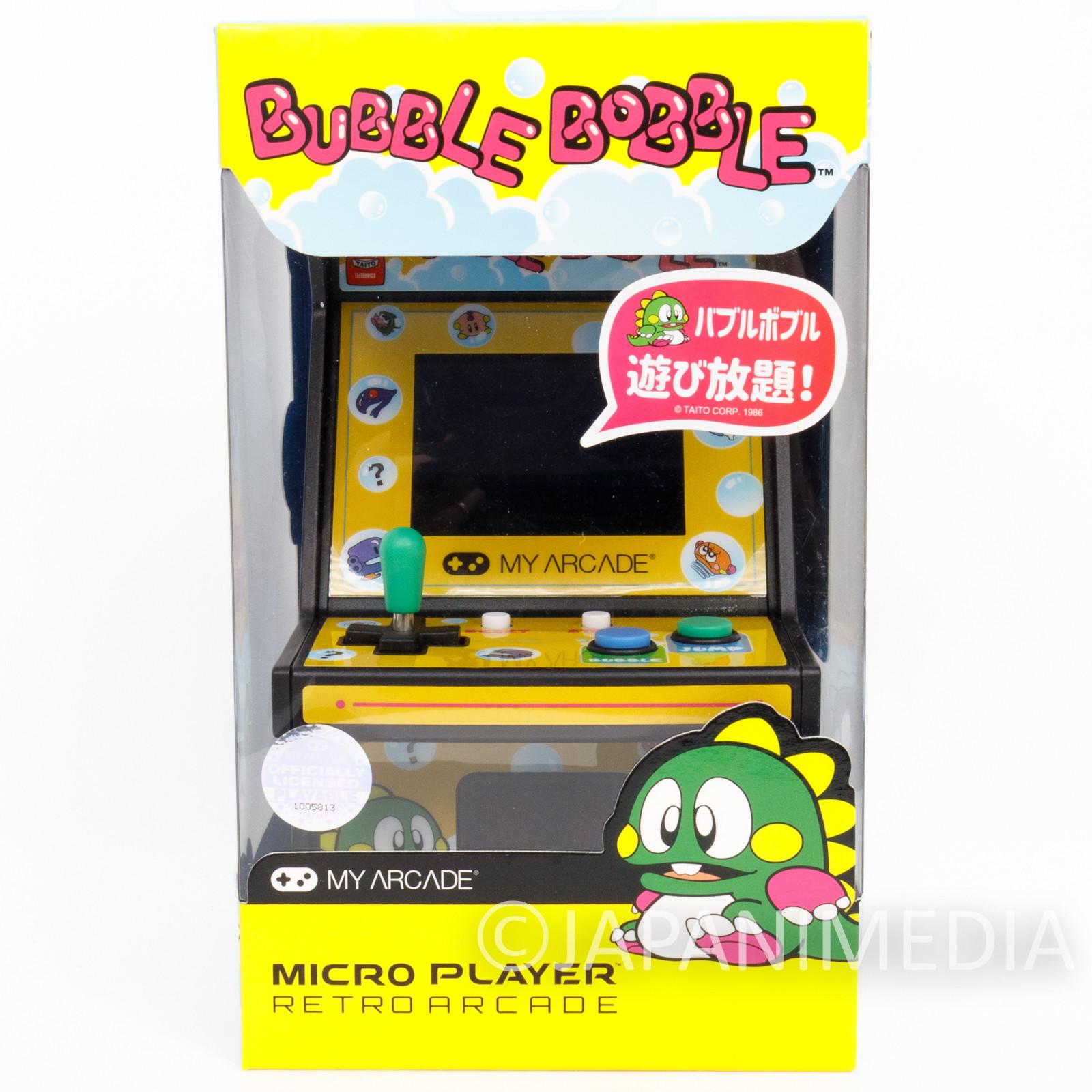 Retro Arcade BUBBLE BOBBLE Micro Player Game Machine