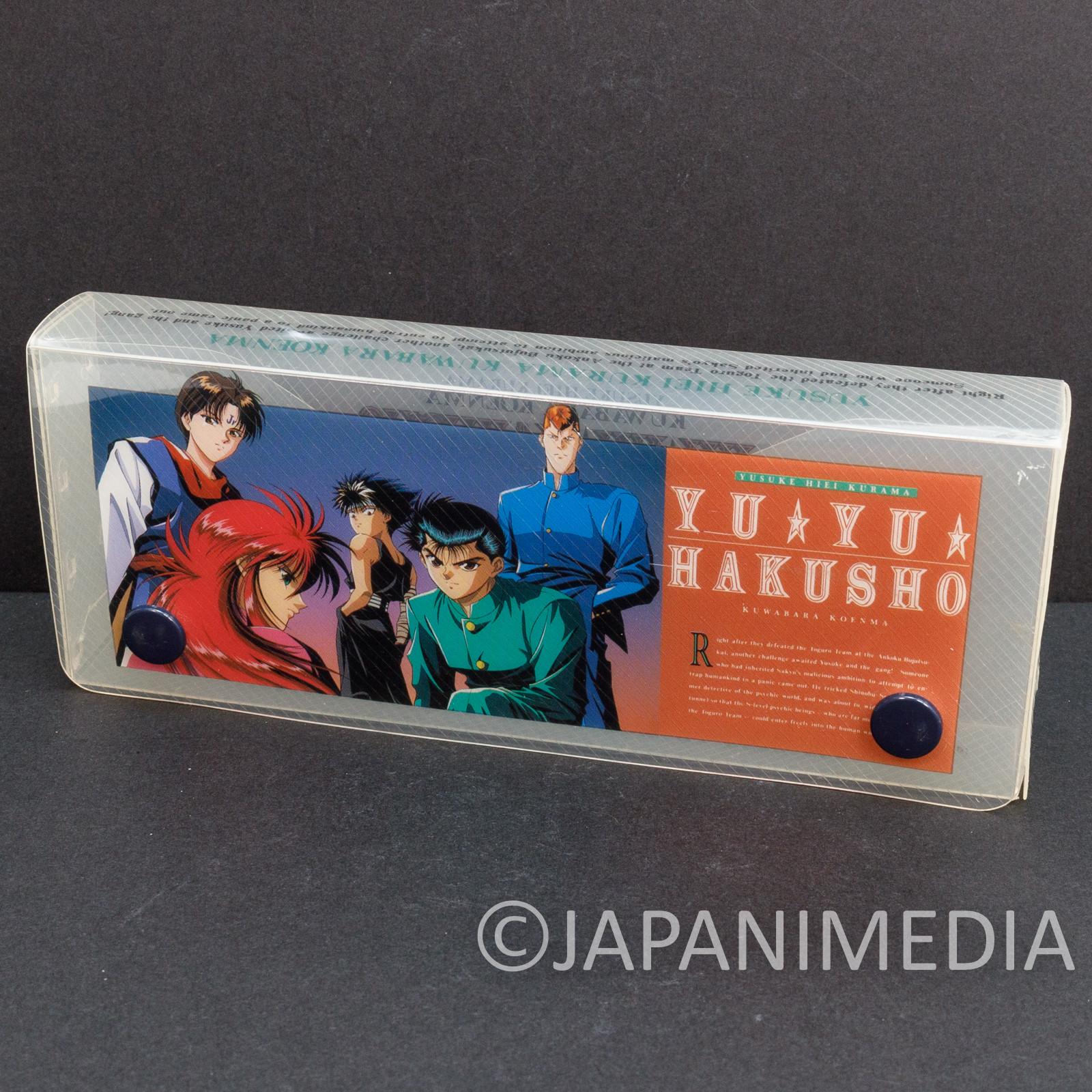 Yu Yu Hakusho Plastic Pen Case Yusuke Kuwabara Kurama Hiei Koenma