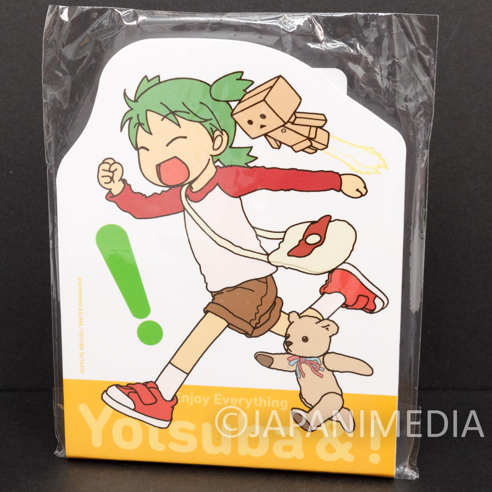 Yotsuba& Yotsuba Memo Pad #1 TAITO JAPAN ANIME