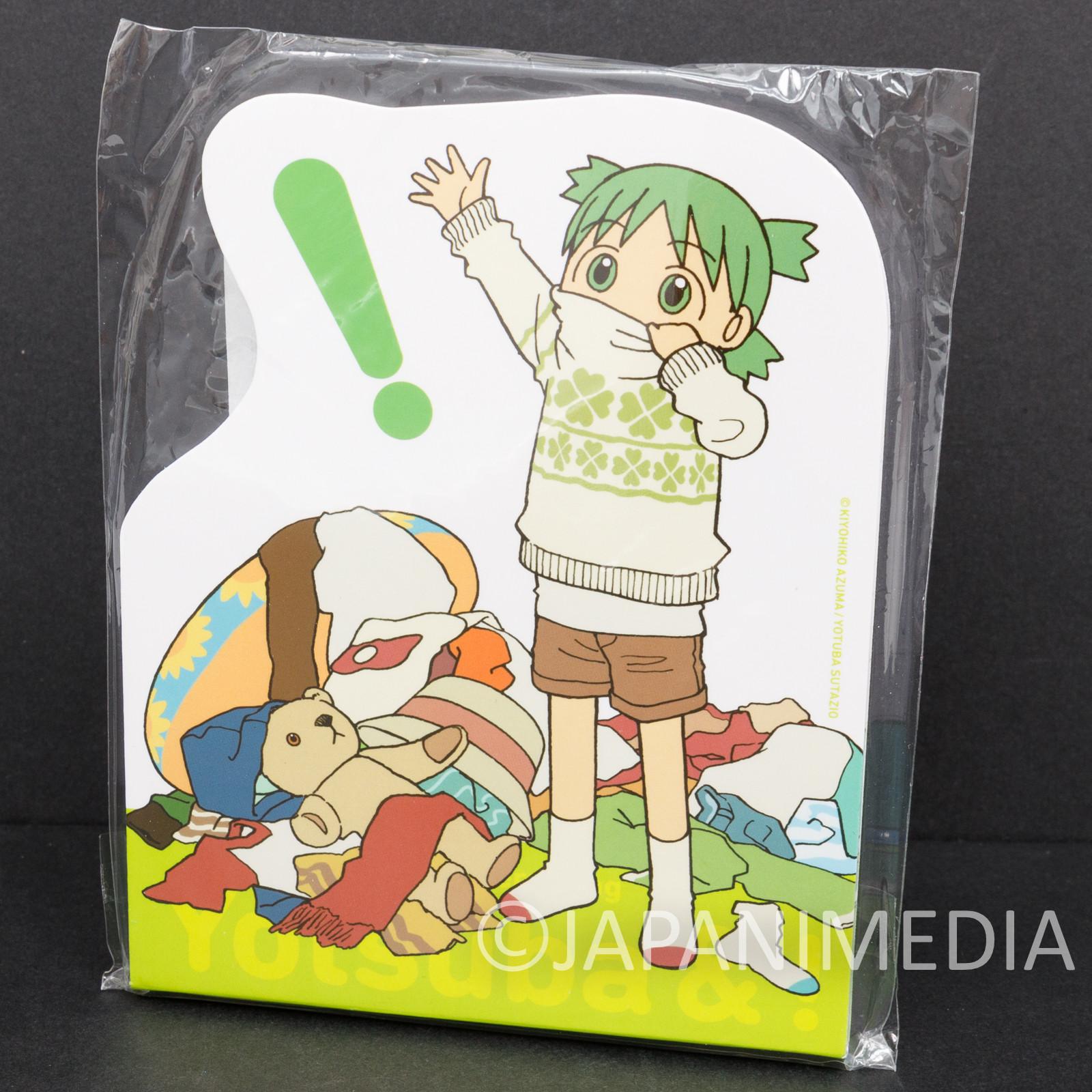 Yotsuba& Yotsuba Memo Pad #2 TAITO JAPAN ANIME