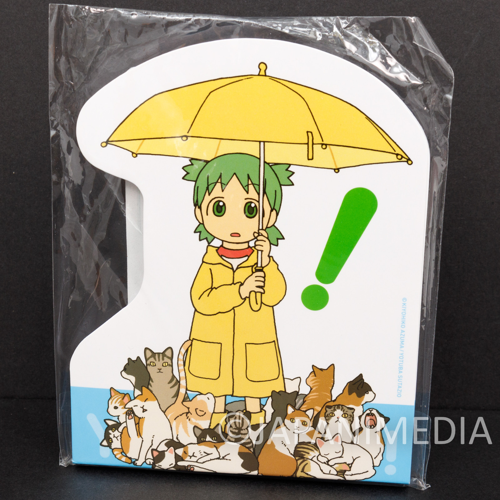 Yotsuba& Yotsuba Memo Pad #3 TAITO JAPAN ANIME