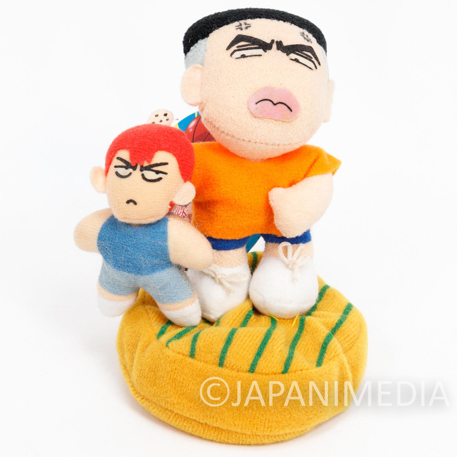 Slam Dunk Plush Doll Takenori Akagi & Hanamichi Sakuragi Banpresto JAPAN
