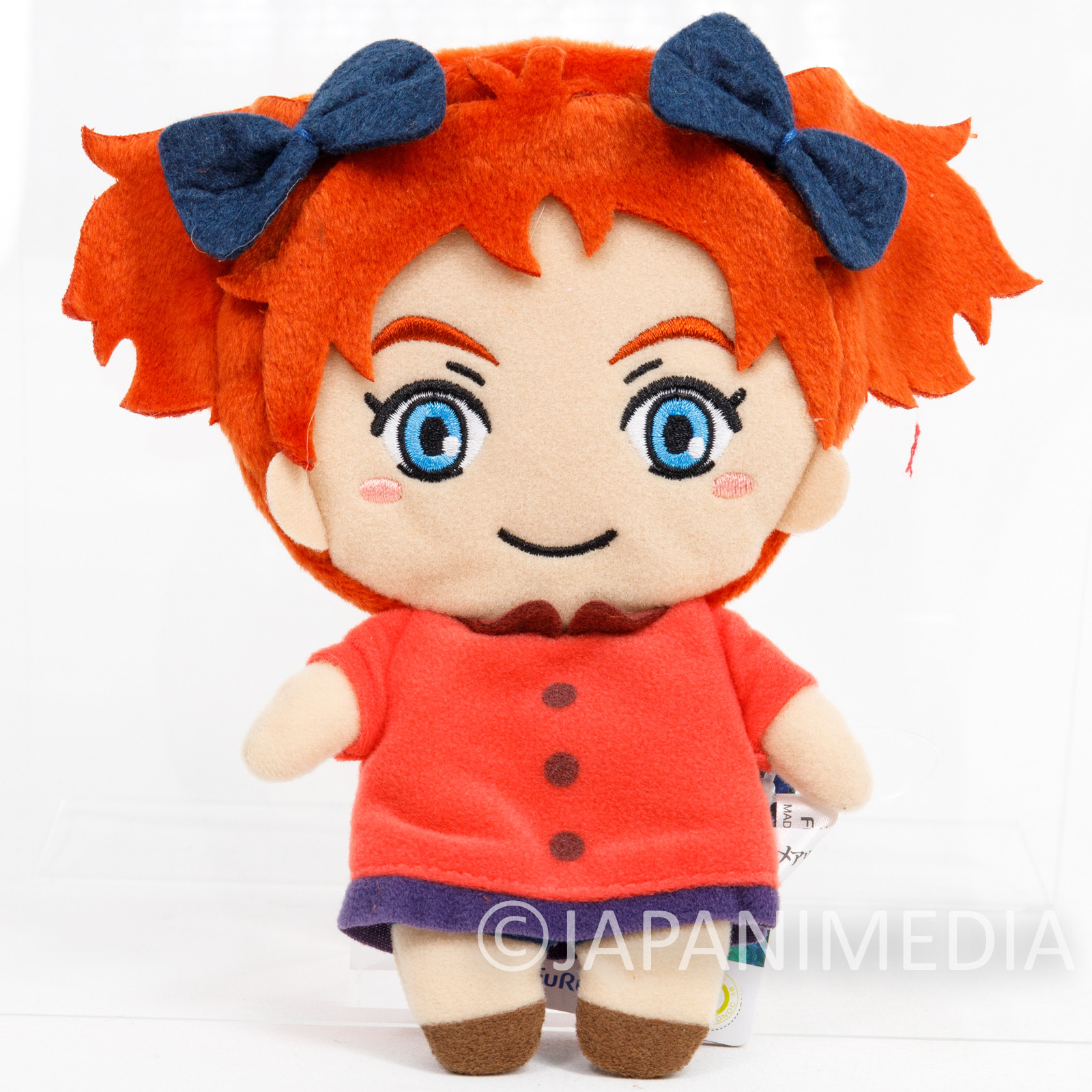 Mary and the Witch's Flower Plush Doll Pochette with Strap Ghibli JAPAN
