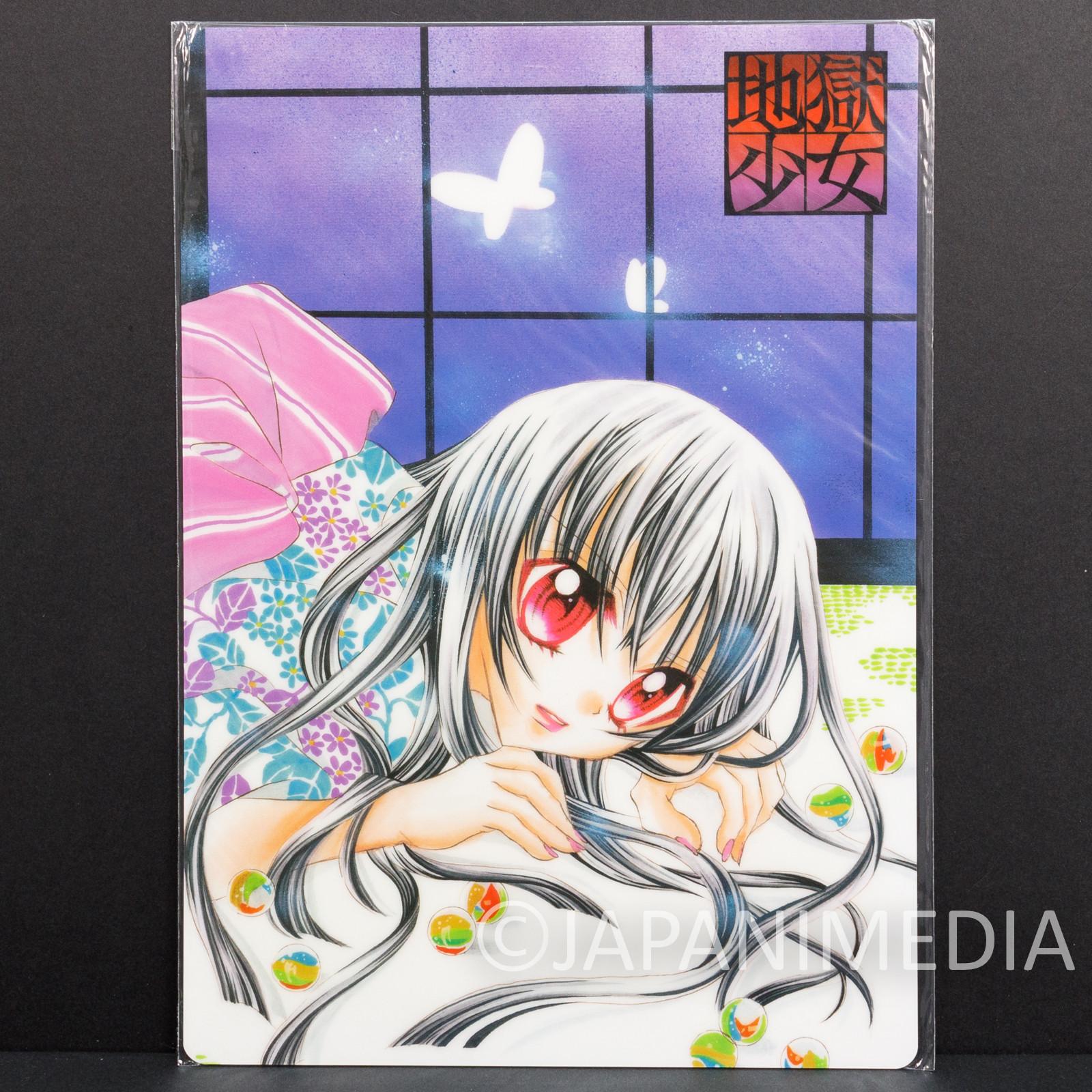 Hell Girl Jigoku Shoujo Ai Enma Picture Pencil Board Pad Shitajiki JAPAN ANIME