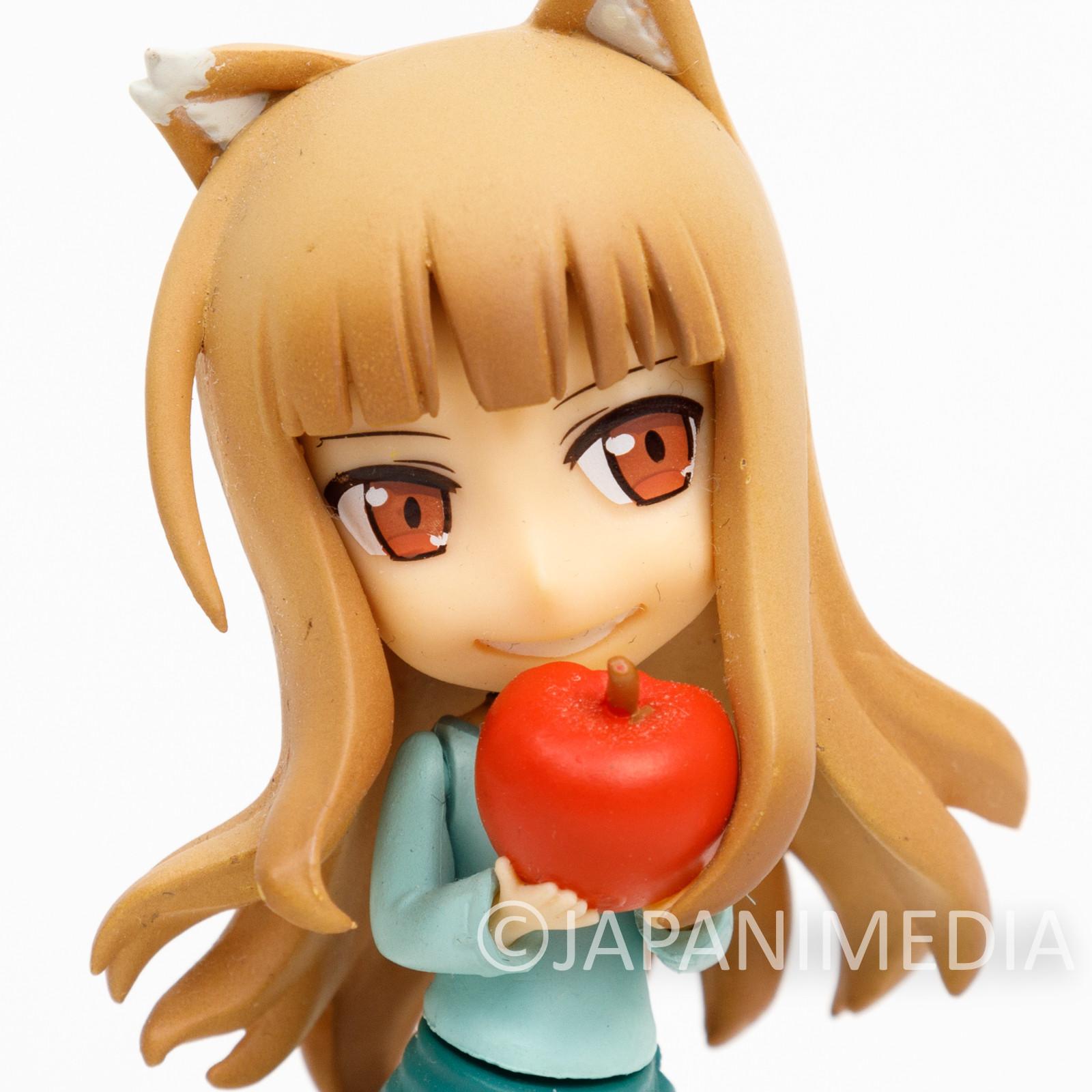 Spice and Wolf Holo Mini Figure Okami to Koushinryou JAPAN ANIME