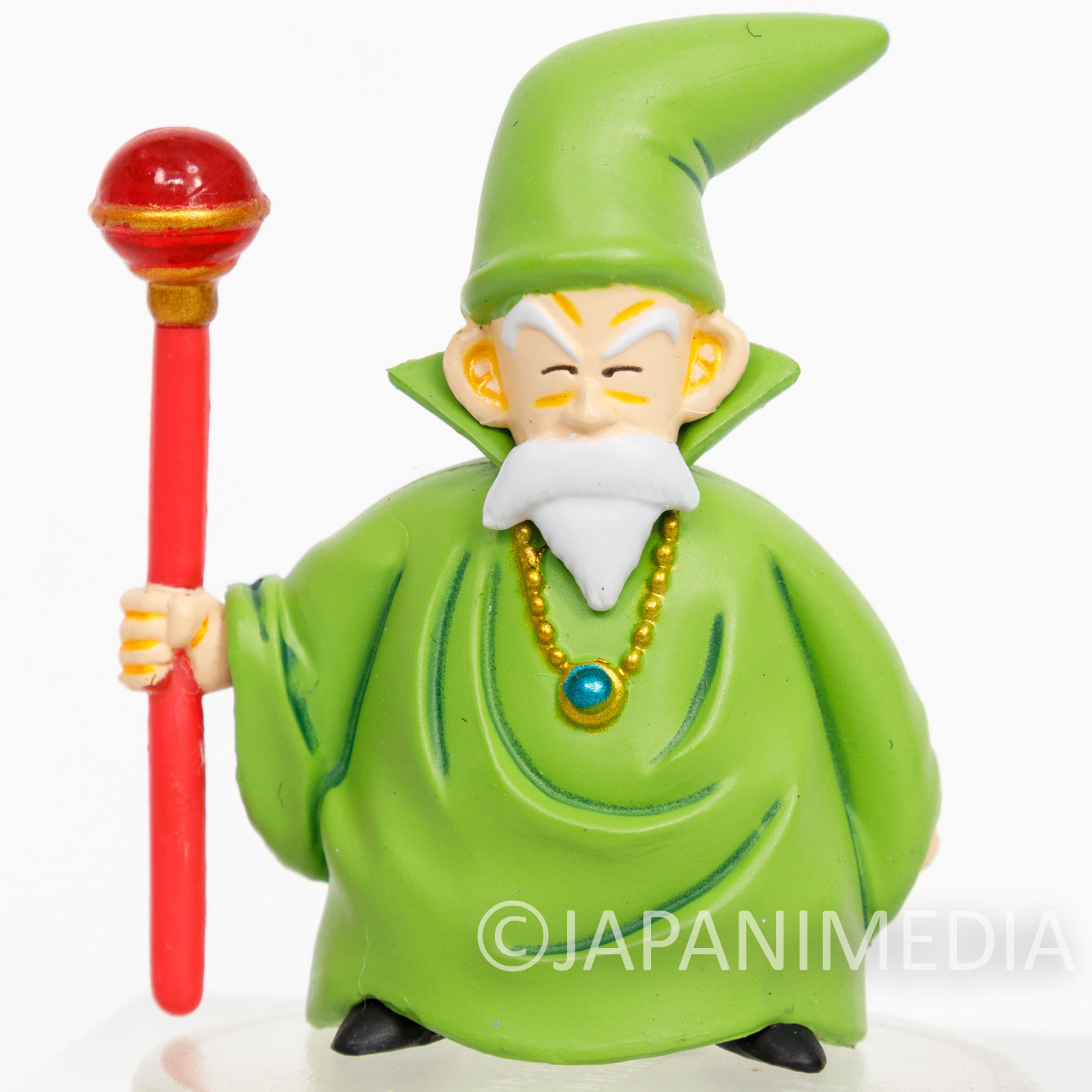 RARE Dragon Quest 3 Character Mascot Figure Mage Male GAME WARRIOR