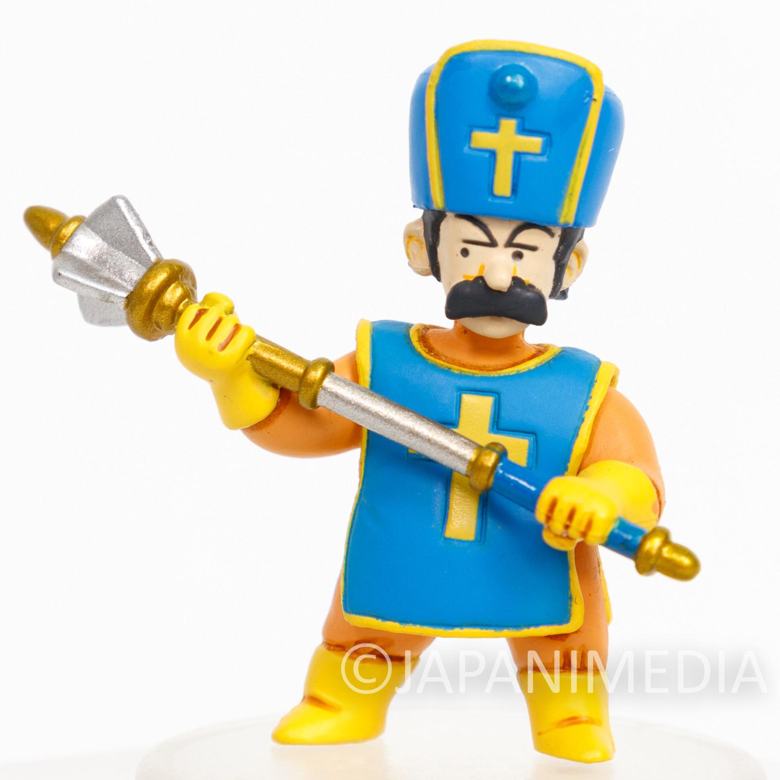 RARE Dragon Quest 3 Character Mascot Figure Priest Male GAME WARRIOR