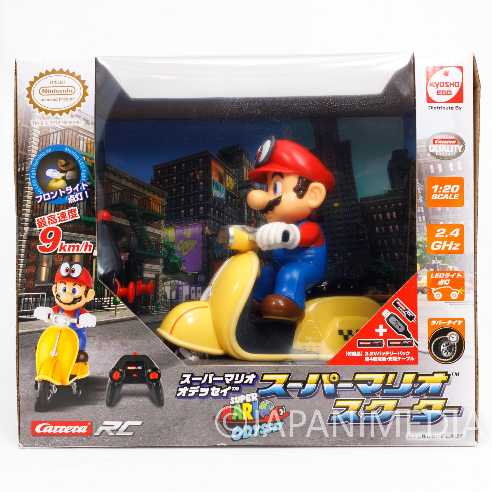 Super Mario Odyssey Radio Controlled Scooter Figure Nintendo JAPAN
