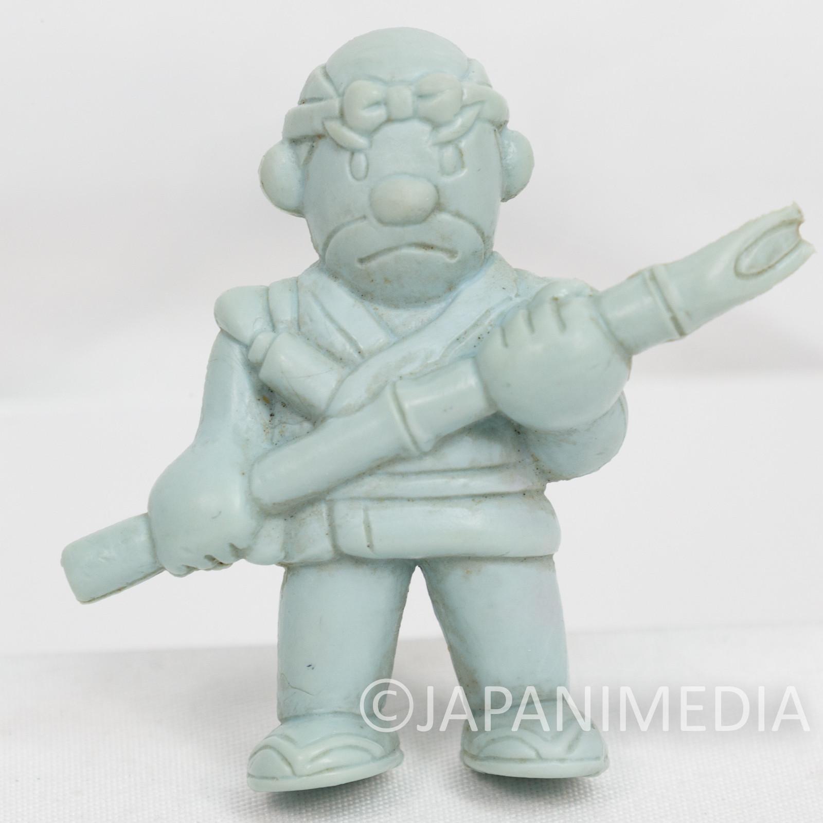 Retro RARE! Ikki Gonbe Rubber Figure Model Kit JAPAN NES FAMICOM