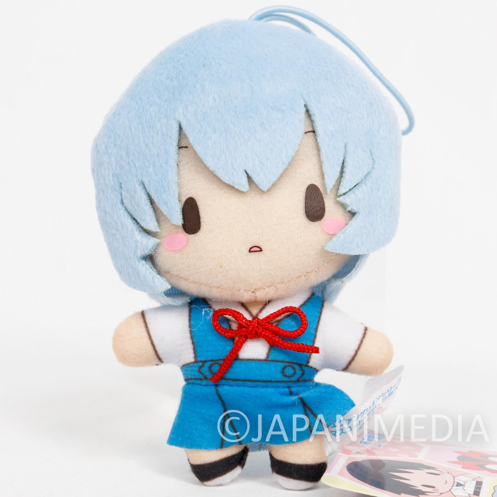 Evangelion Rei Ayanami Mini Plush Doll SEGA JAPAN ANIME MANGA 2