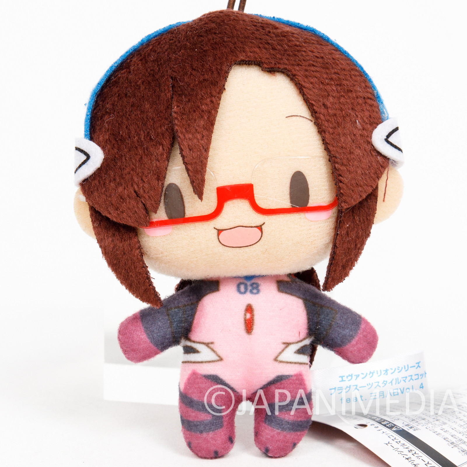 Evangelion Mari Illustrious Plugsuit Mini Plush Doll SEGA JAPAN ANIME MANGA 2