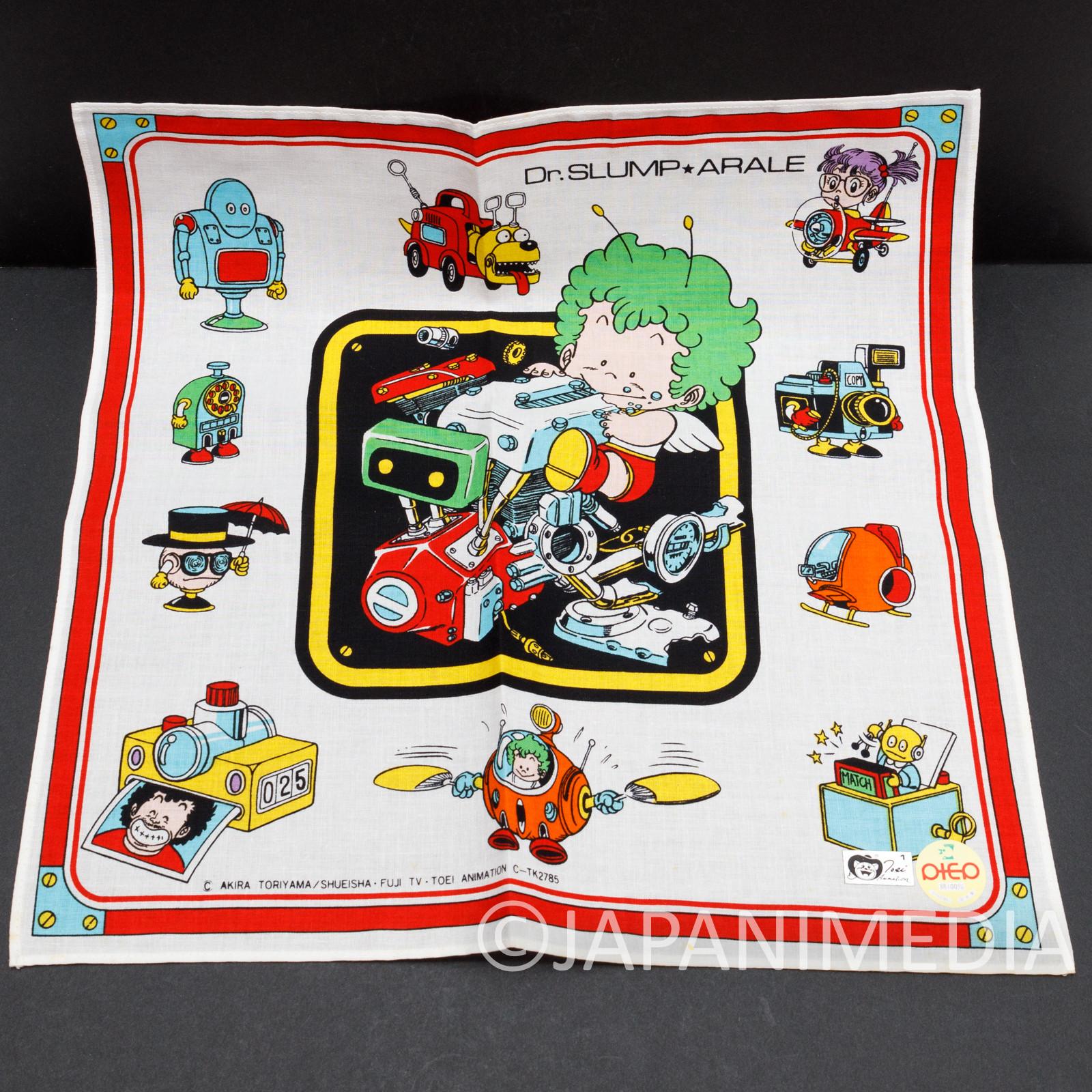 Dr. Slump Arale chan #3 Handkerchief 12 x 12 inch JAPAN ANIME