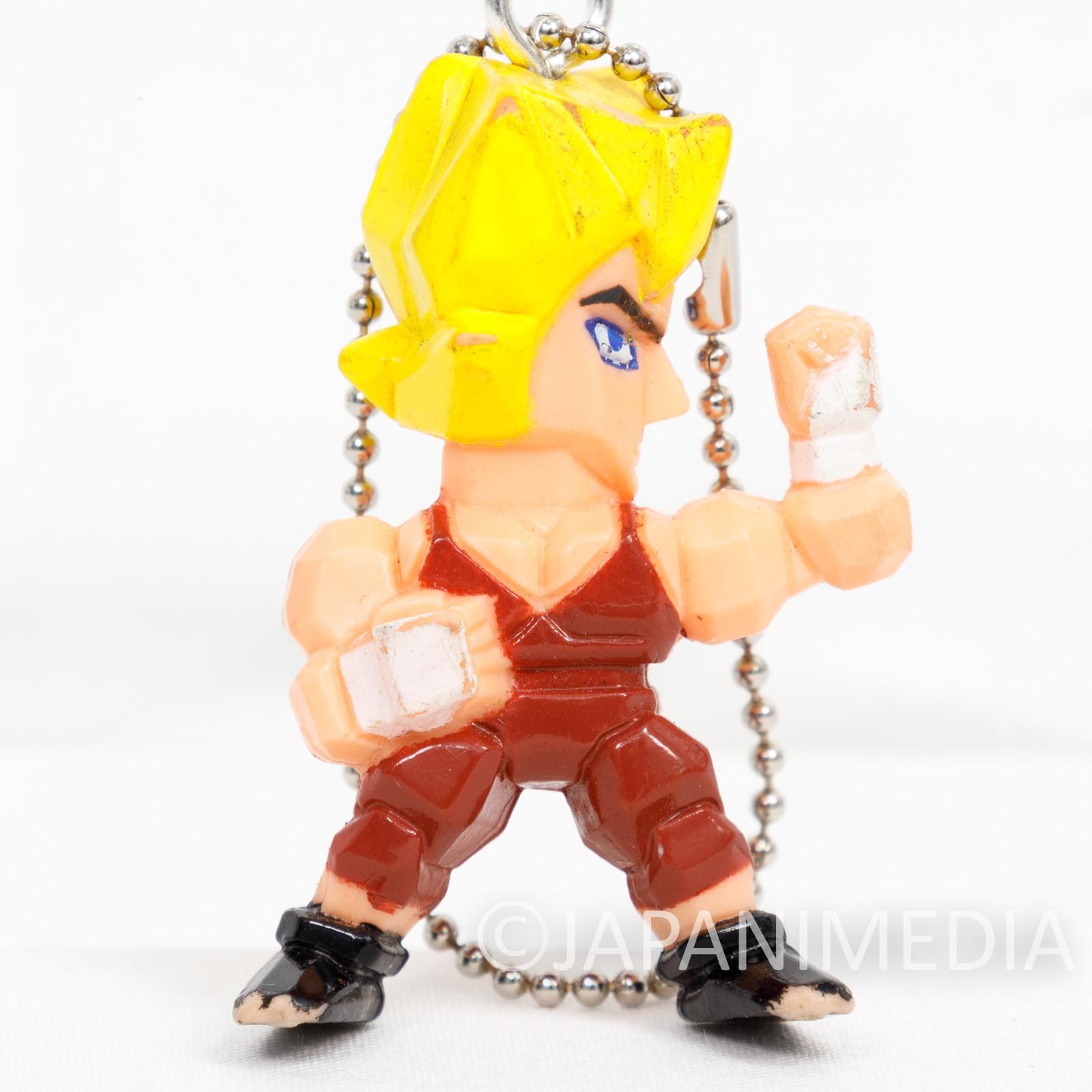 Virtua Fighter Jacky Bryant Mini Figure Ballchain JAPAN GAME