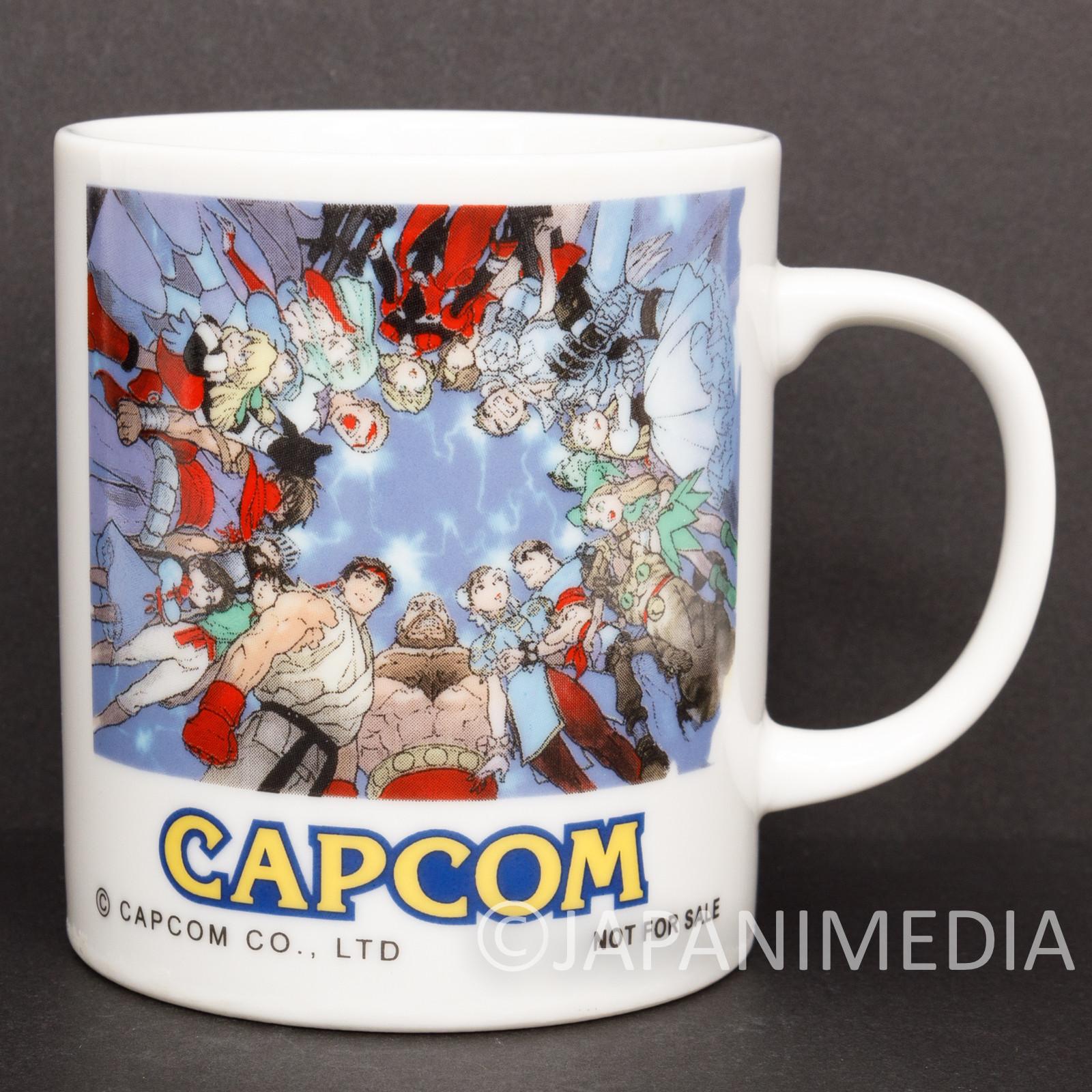 Capcom Character Mug /Street Fighter Fighting Jam Night Warriors Ghosts'n Goblin