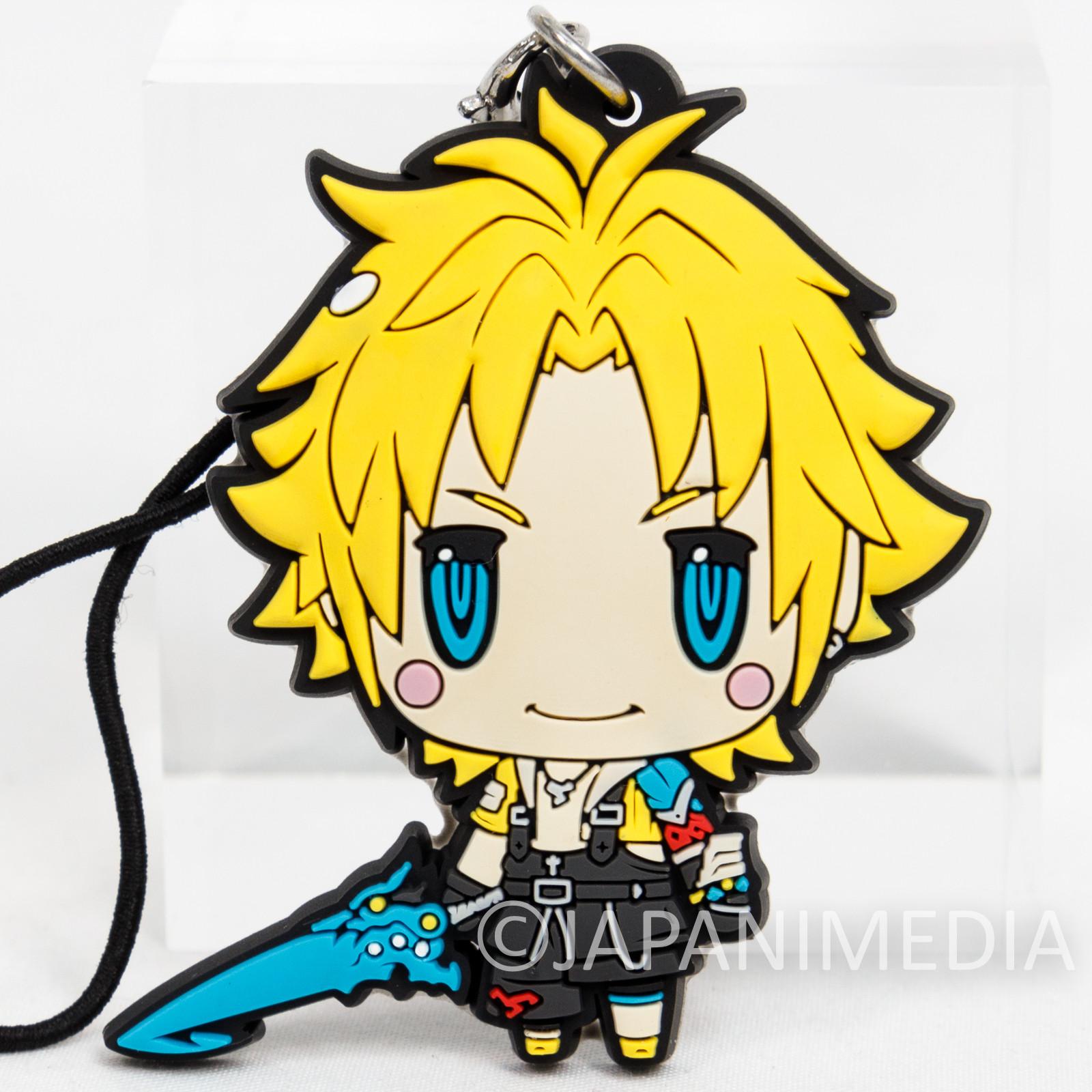 Final Fantasy Tidus Mascot Rubber Strap JAPAN SQUARE ENIX