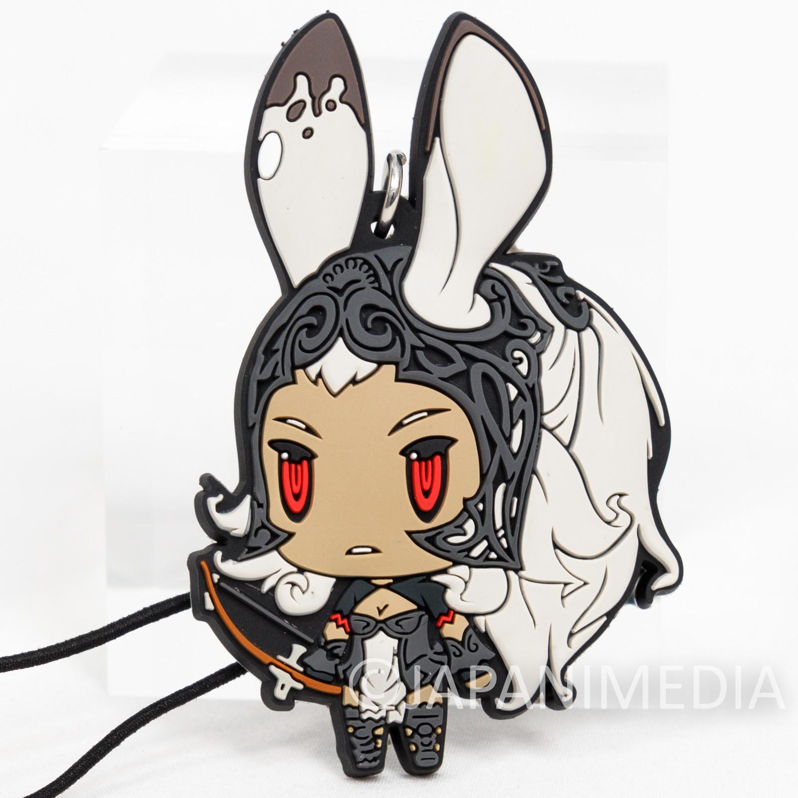 Final Fantasy Fran Mascot Rubber Strap JAPAN SQUARE ENIX
