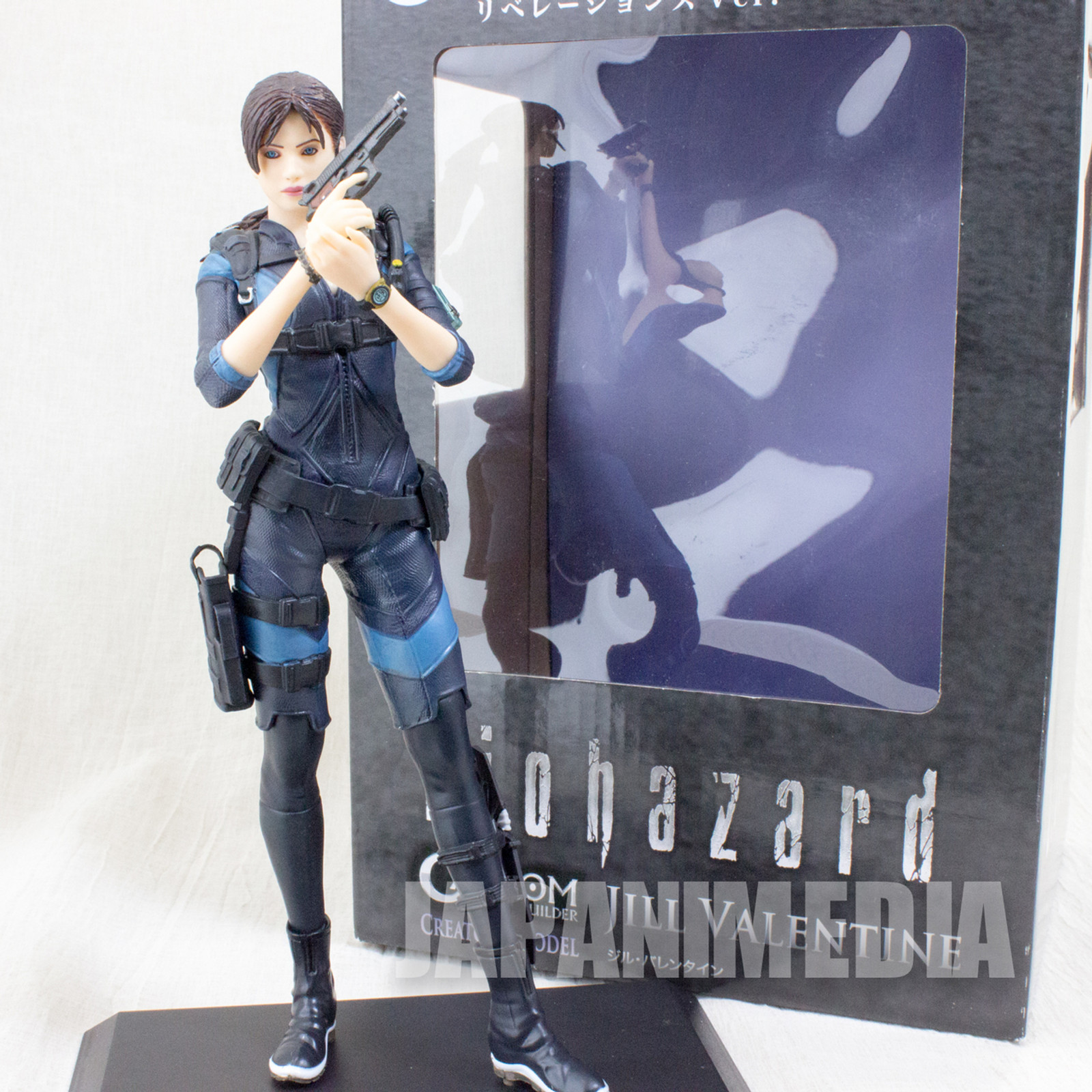 RESIDENT EVIL Biohazard Jill Valentine Levelations Color Ver. Capcom Figure Builder JAPAN