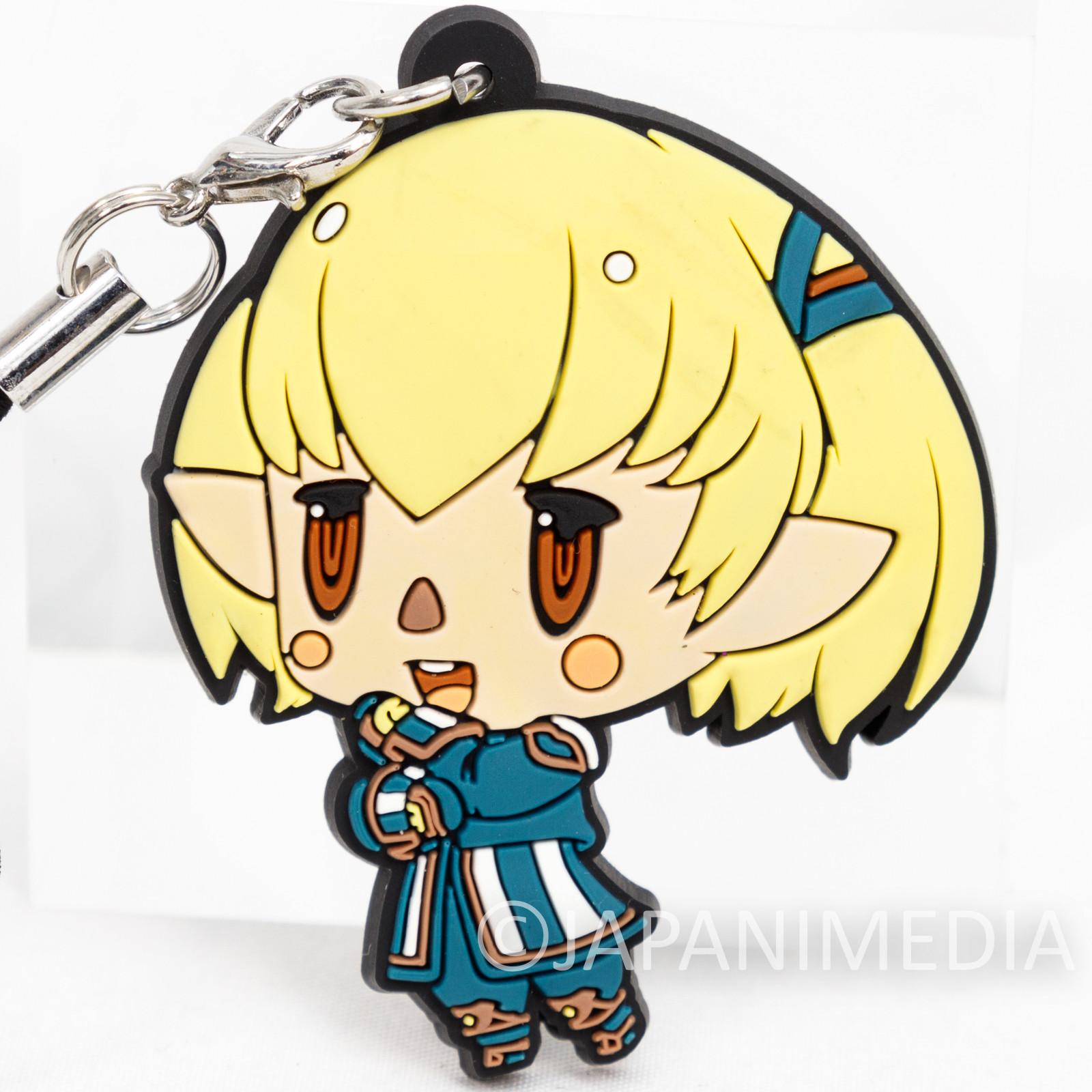 Final Fantasy Shantotto Mascot Rubber Strap JAPAN SQUARE ENIX