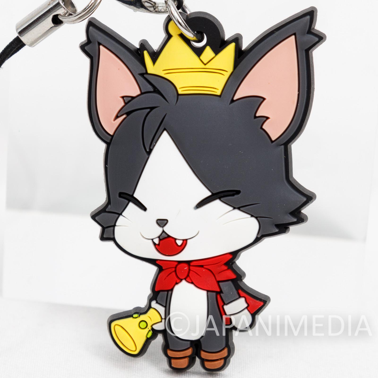 Final Fantasy Cait Sith Mascot Rubber Strap JAPAN SQUARE ENIX