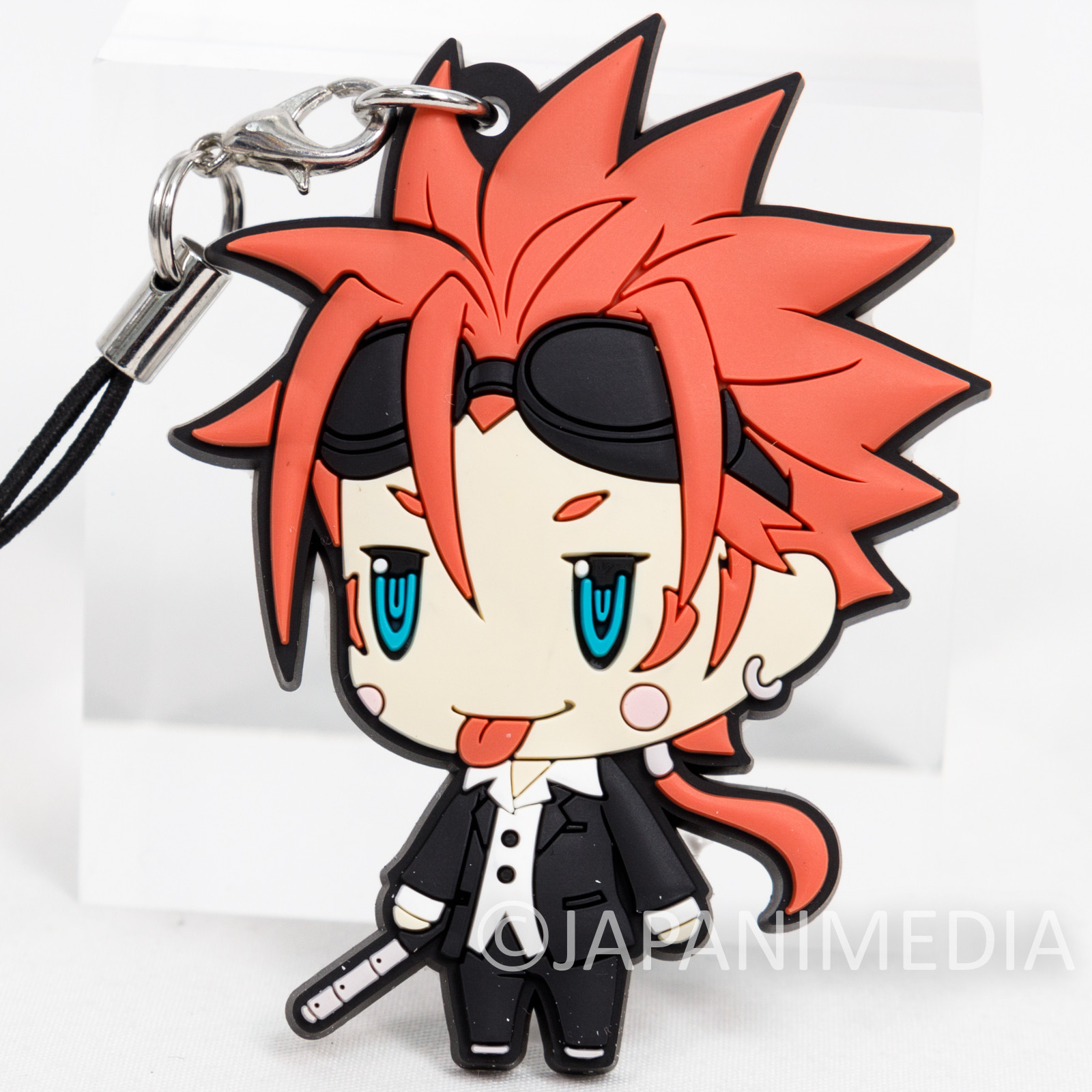 Final Fantasy Reno Mascot Rubber Strap JAPAN SQUARE ENIX