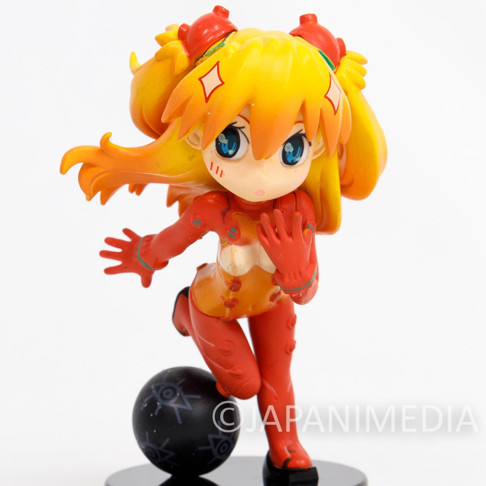 Evangelion Petit Eva R-Style Asuka Langley Plug Suit Figure BANDAI JAPAN 2