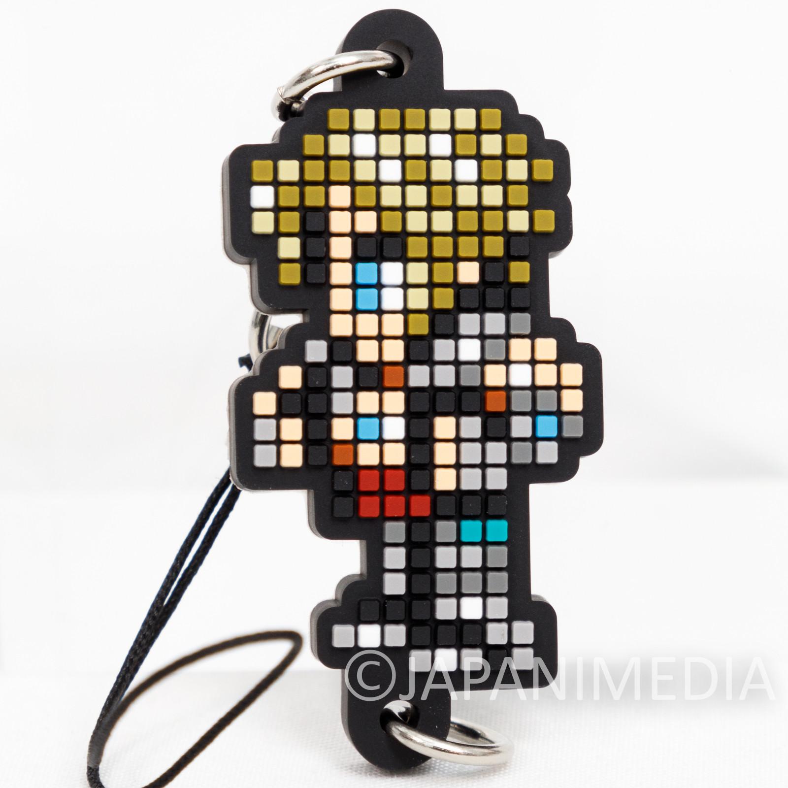 Final Fantasy Vaan Dot Design Rubber Mascot Strap Square Enix