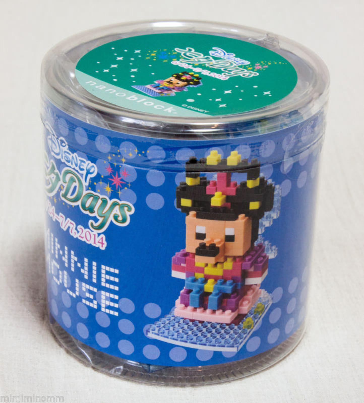 Nanoblock  2014 tanabata  mickey and minnie Tokyo Resort Limited Japan Disney
