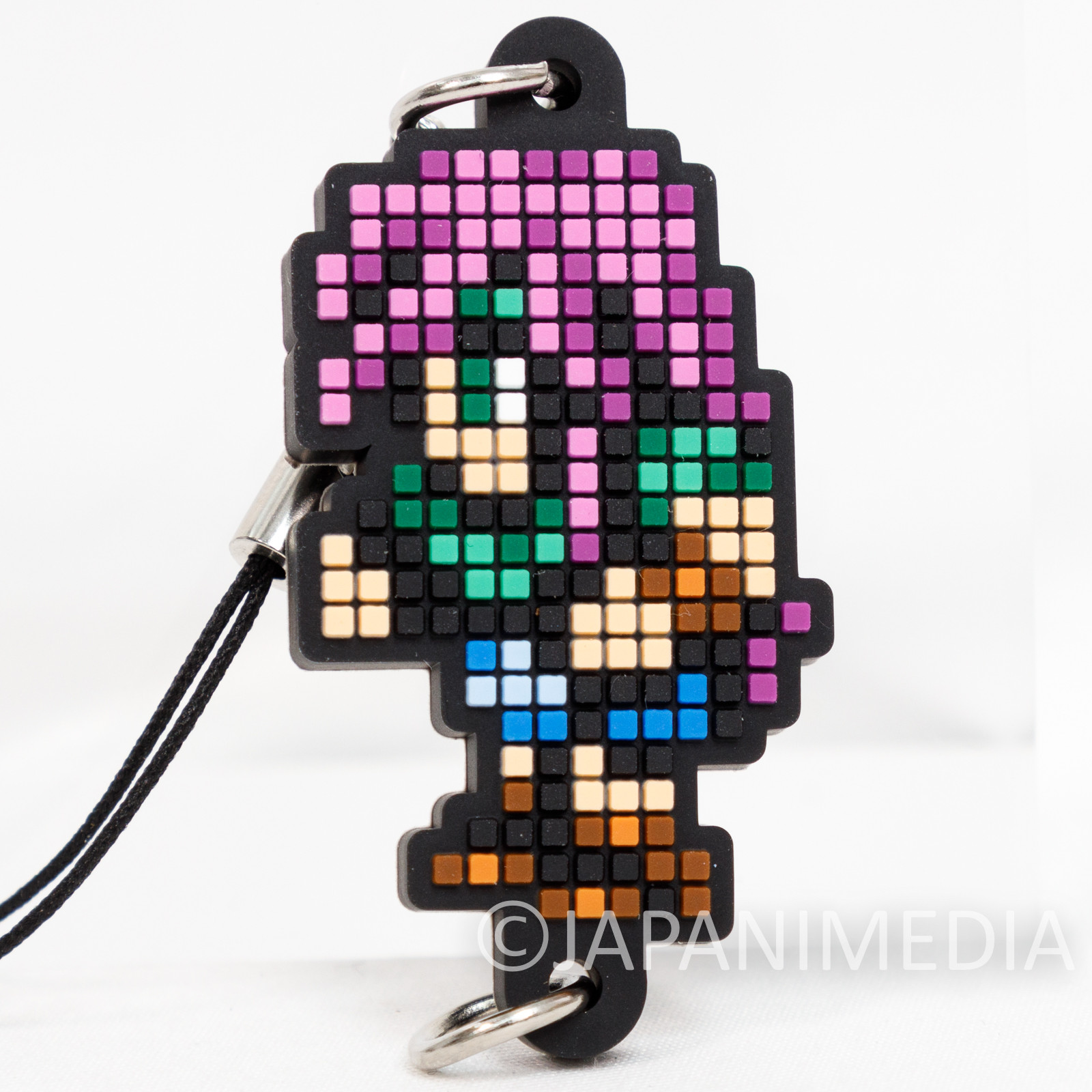 Final Fantasy Faris Shelwitz Dot Design Rubber Mascot Strap Square Enix