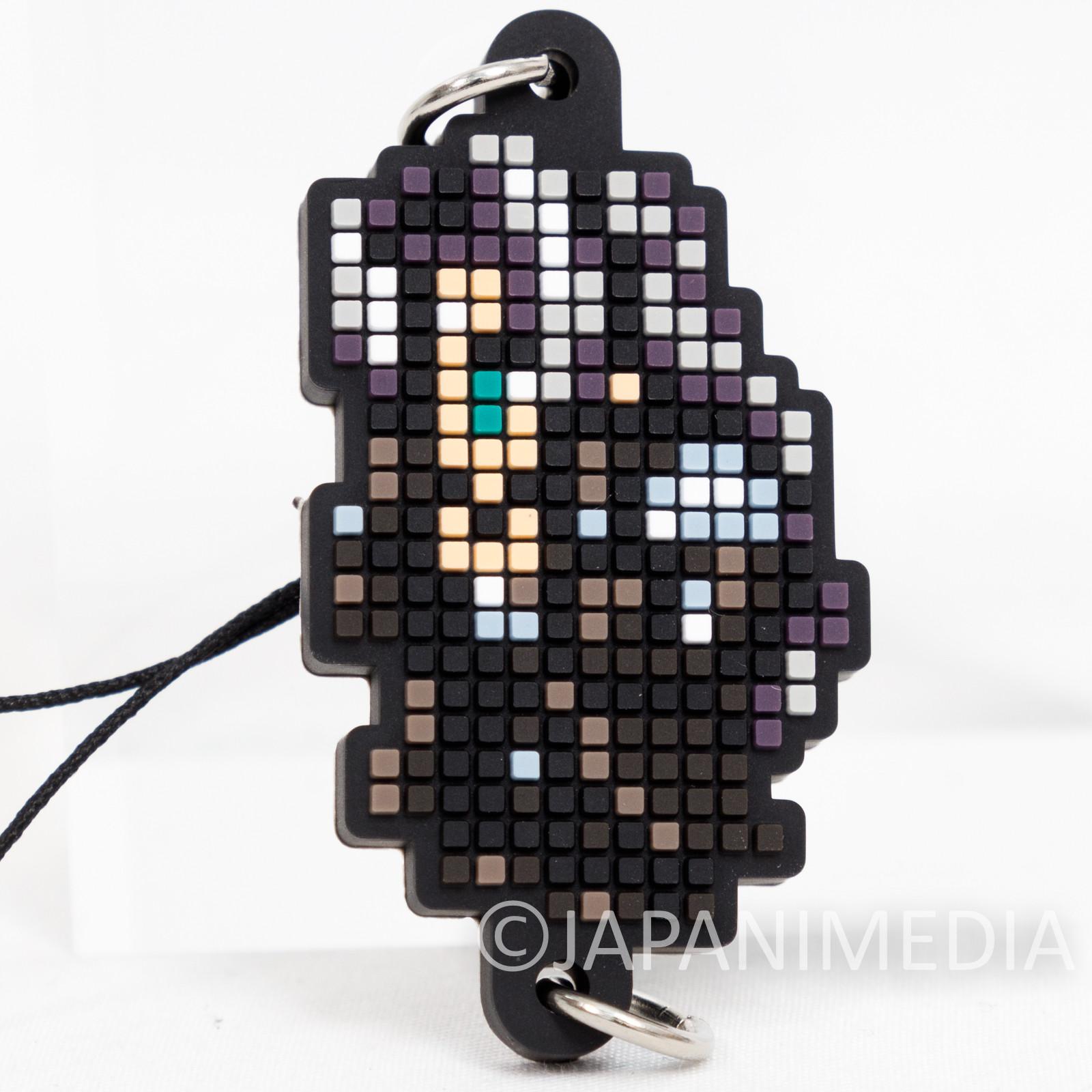 Final Fantasy Tifa Lockhart Dot Design Rubber Mascot Strap Square Enix