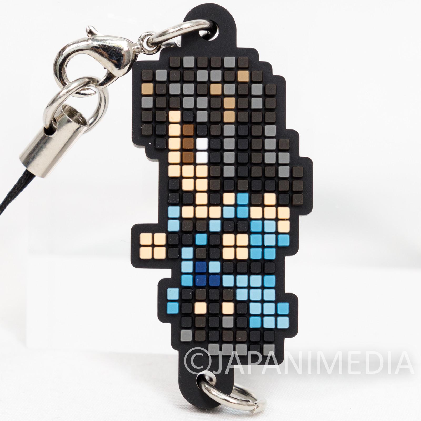 Final Fantasy Rinoa Heartilly Dot Design Rubber Mascot Strap Square Enix