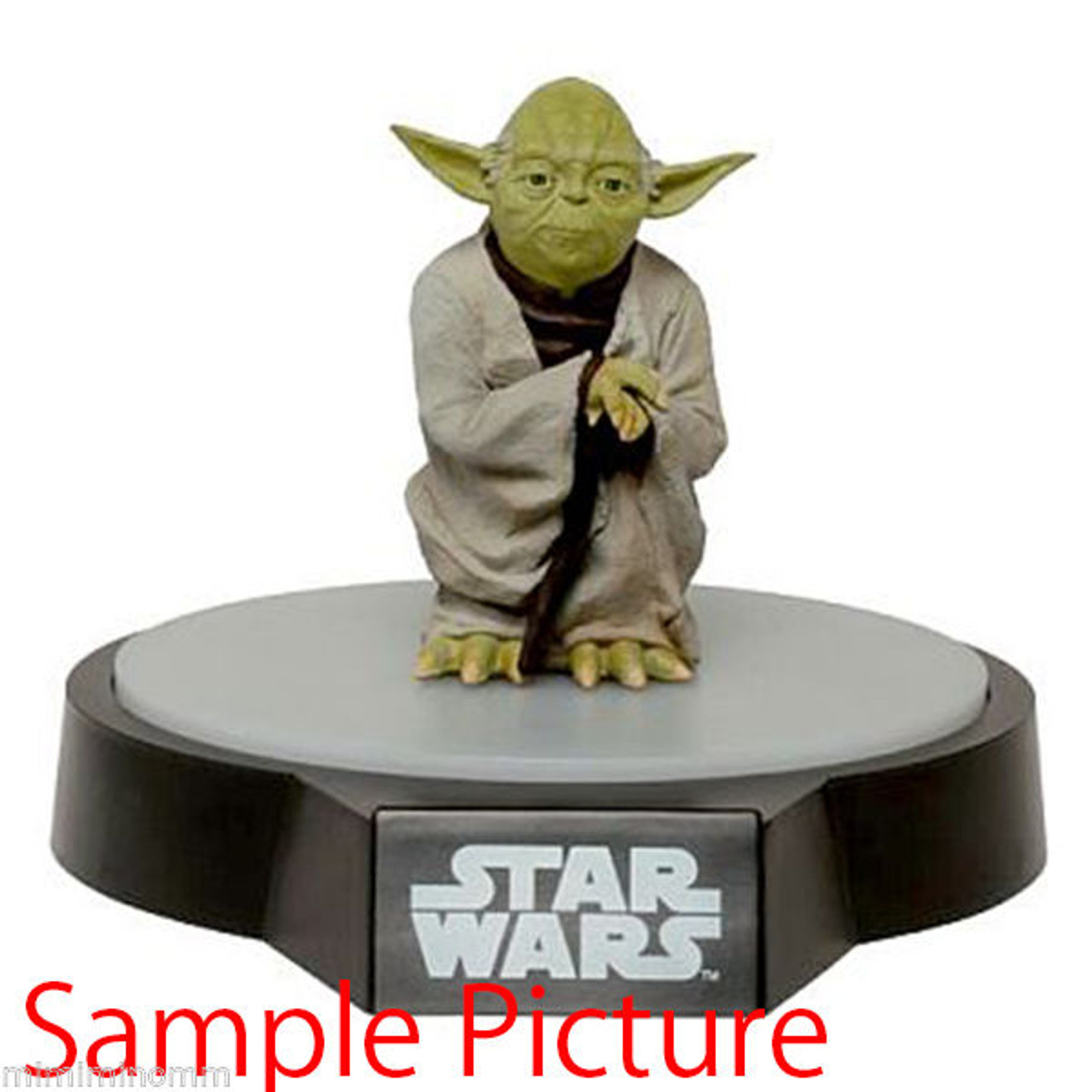 STAR WARS Yoda Room Light Lump Figure Taito JAPAN ROBOT MOVIE GEORGE LUCAS