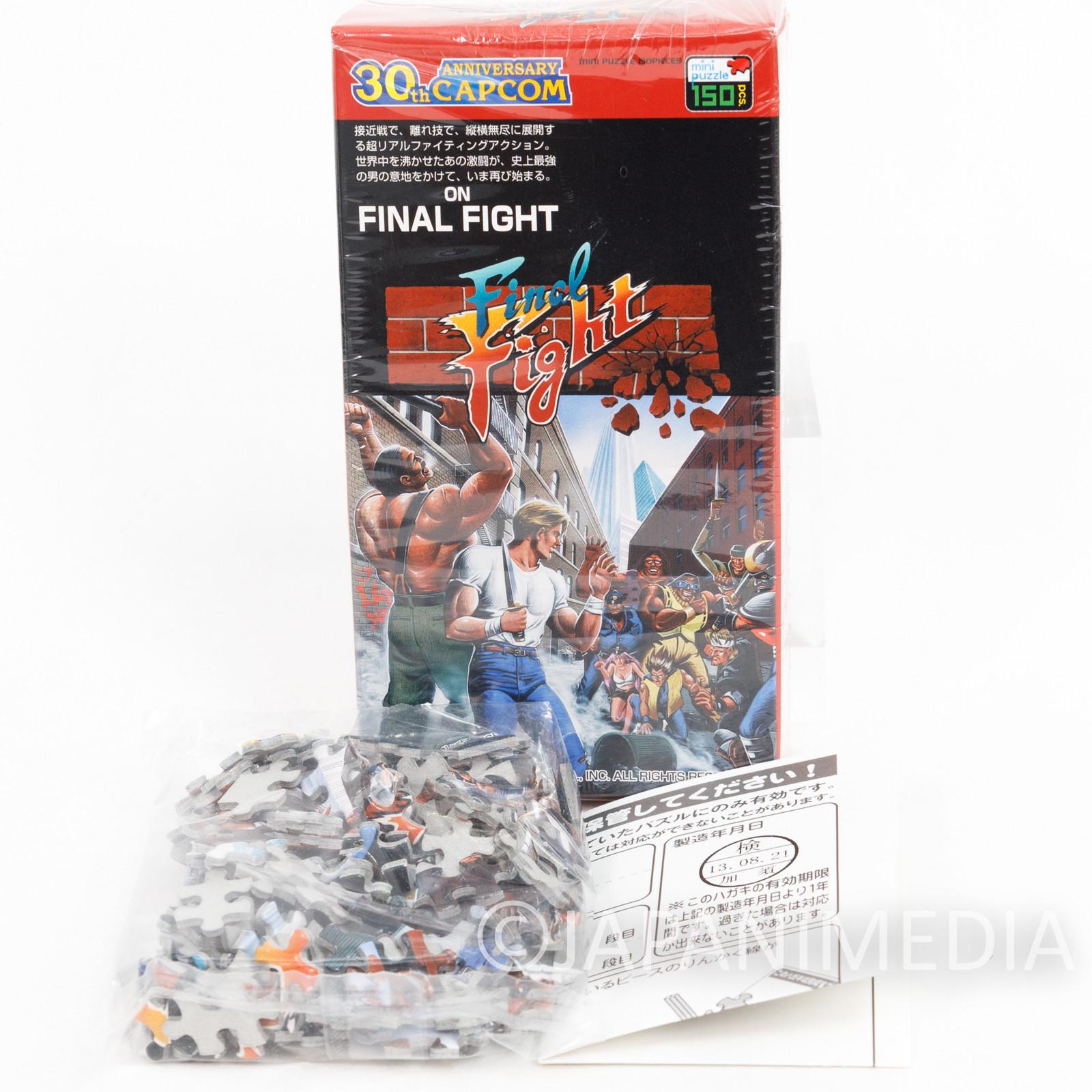 Final Fight Mini Puzzle 150 Piece Capcom JAPAN FAMICOM