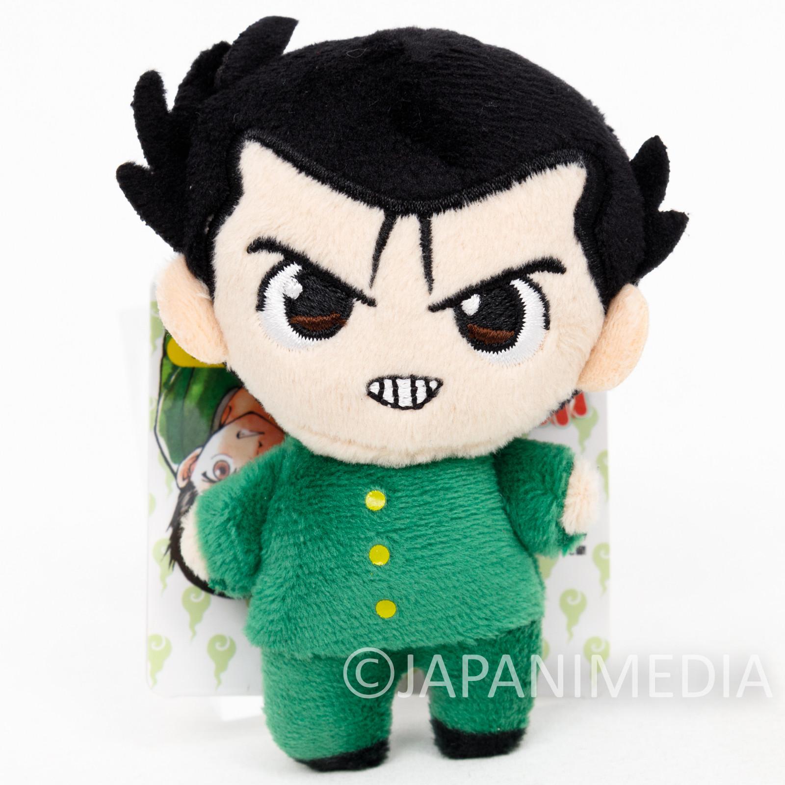 Yu-Yu Hakusho Yusuke Urameshi Plush Doll Ballchain Yoshihiro Togashi JAPAN