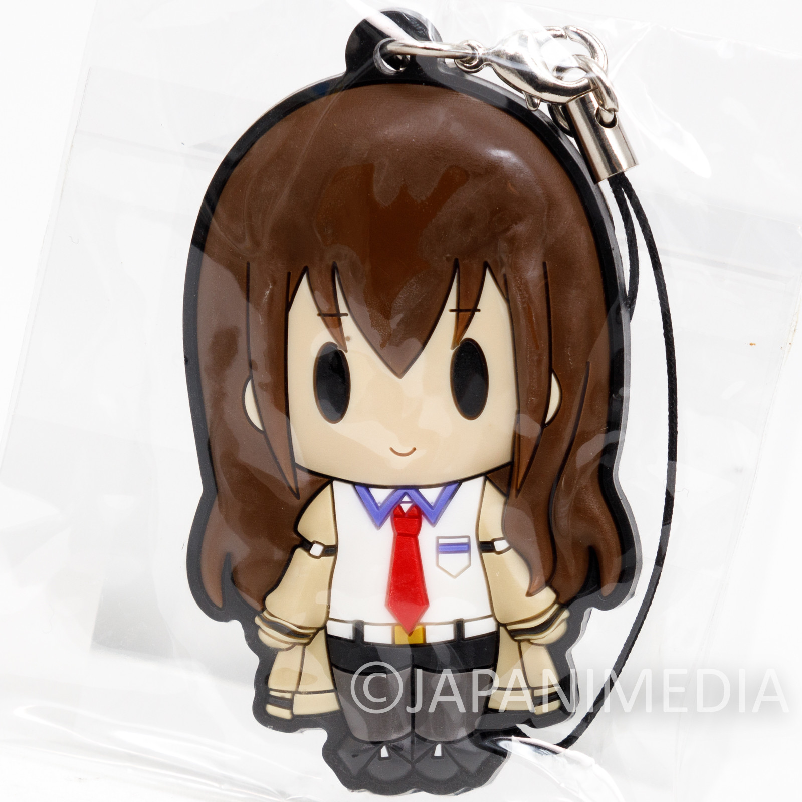Steins ; Gate Kurisu Makise Mascot Rubber Strap JAPAN ANIME