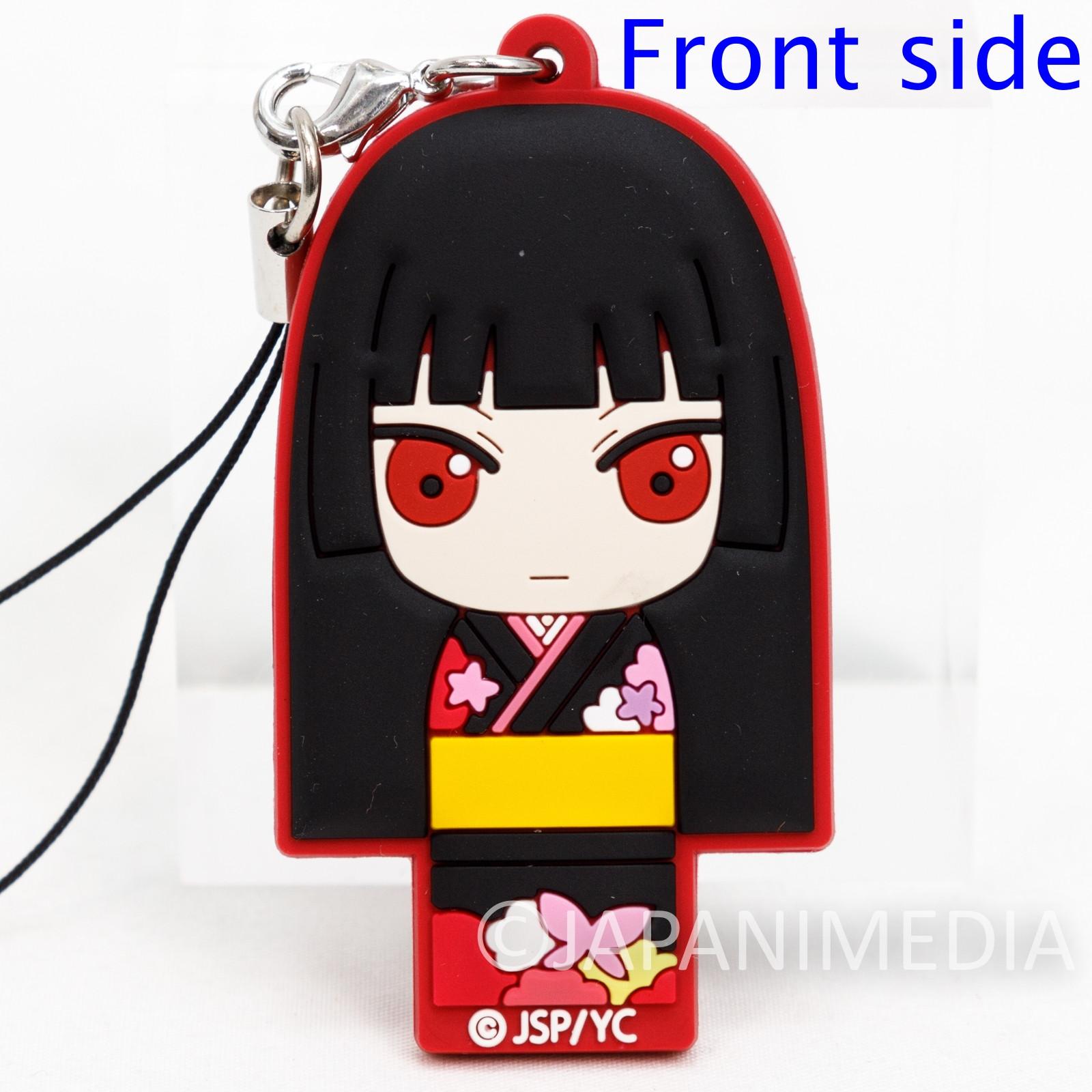 Hell Girl Jigoku Shoujo Ai Enma Rubber Mascot Strap JAPAN ANIME MANGA