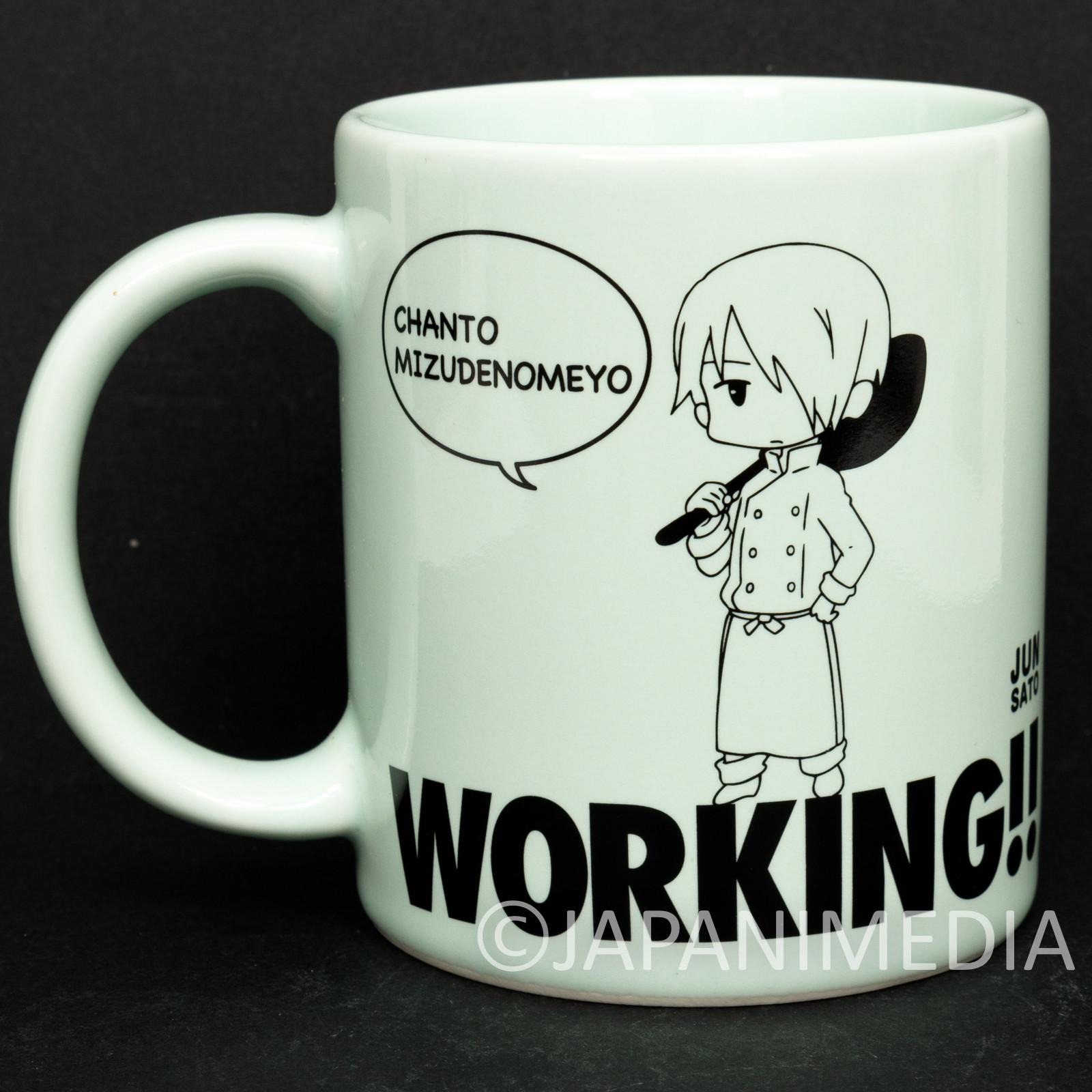 WORKING!! Jun Sato Mug JAPAN ANIME MANGA