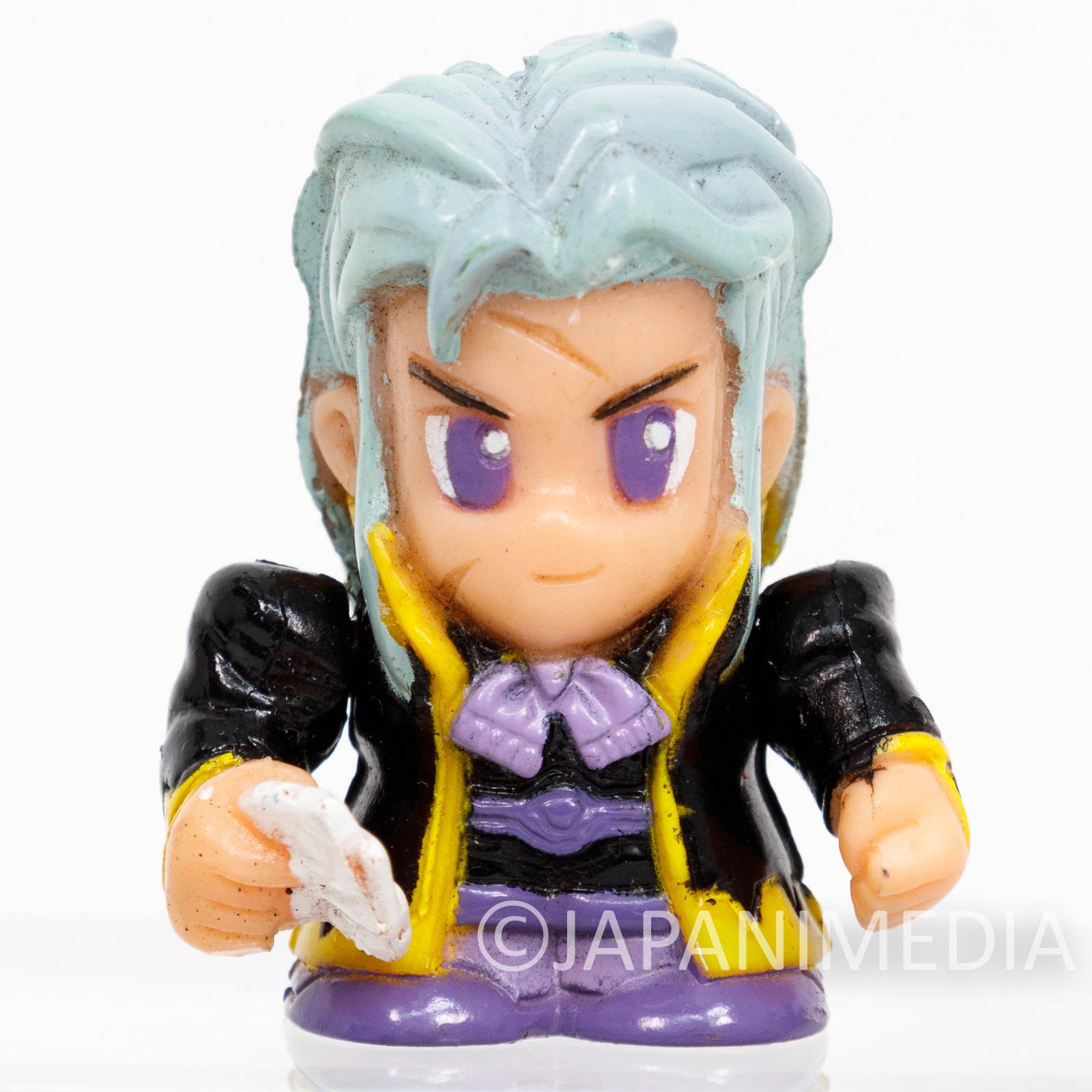 Final Fantasy 6 VI Setzer Gabbiani Mini Soft Vinyl Figure SQUARE ENIX