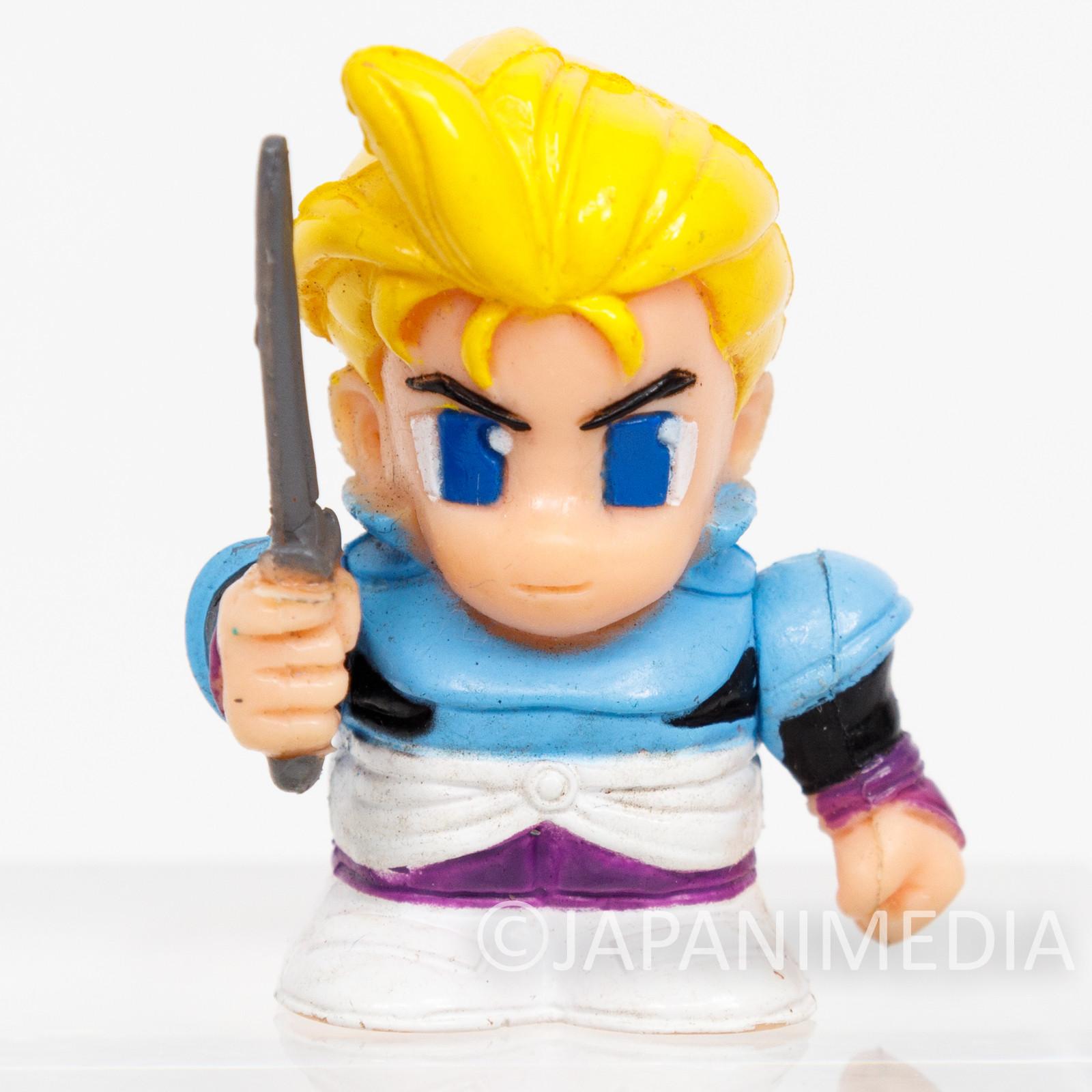 Final Fantasy 6 VI Edgar Roni Figaro Mini Soft Vinyl Figure SQUARE ENIX