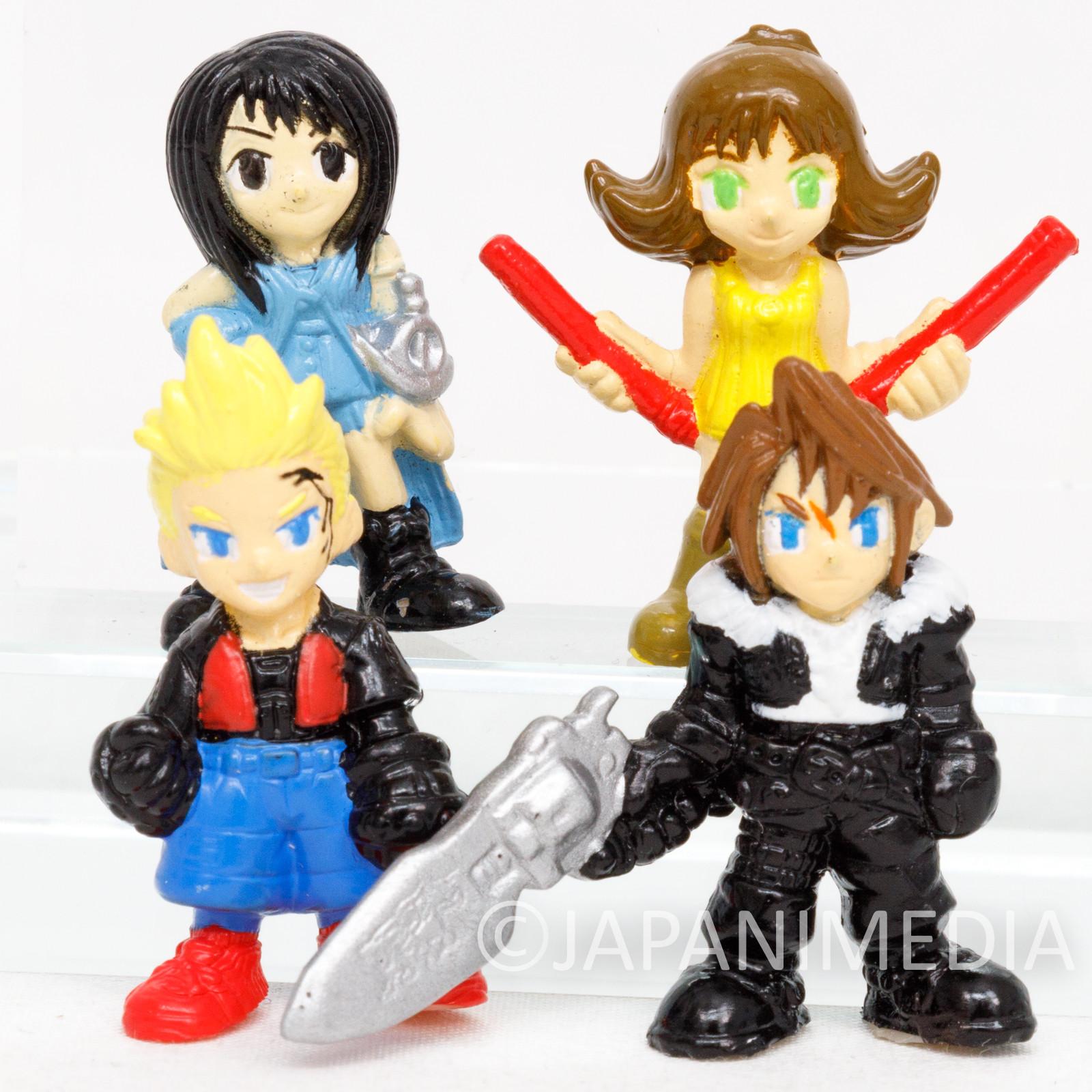 Final Fantasy VIII Squall Rinoa Selphie Zell Miniature Figure Set SQUARE ENIX