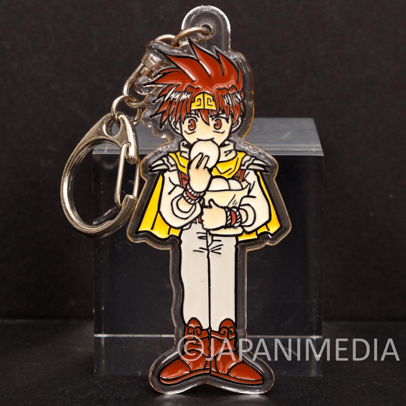 SAIYUKI Son Goku Acrylic Mascot Keychain Movic Kazuya Minekura JAPAN