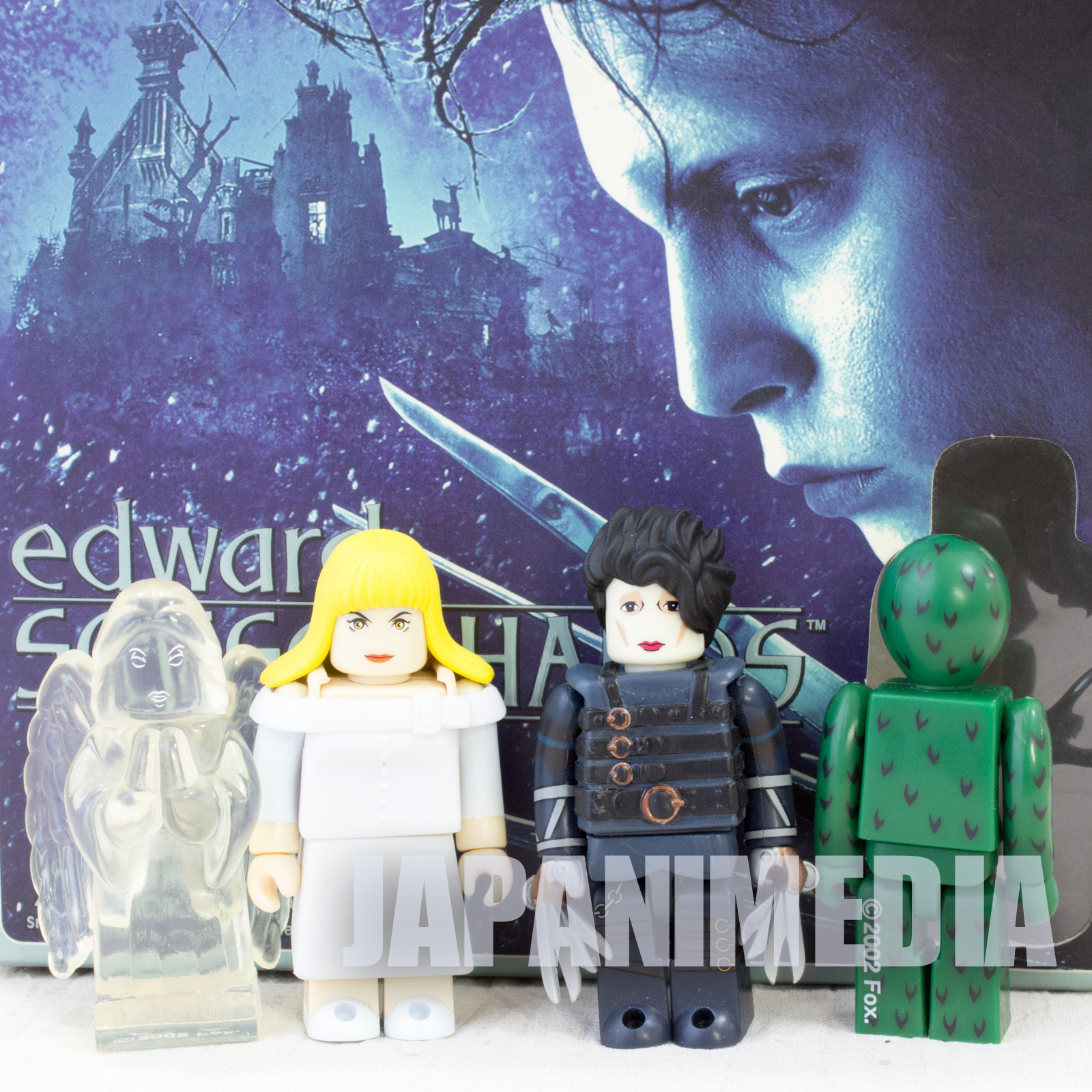 Edward Scissorhands Kim Kubrick figure 4 set Medicom Toy JAPAN Johnny Depp