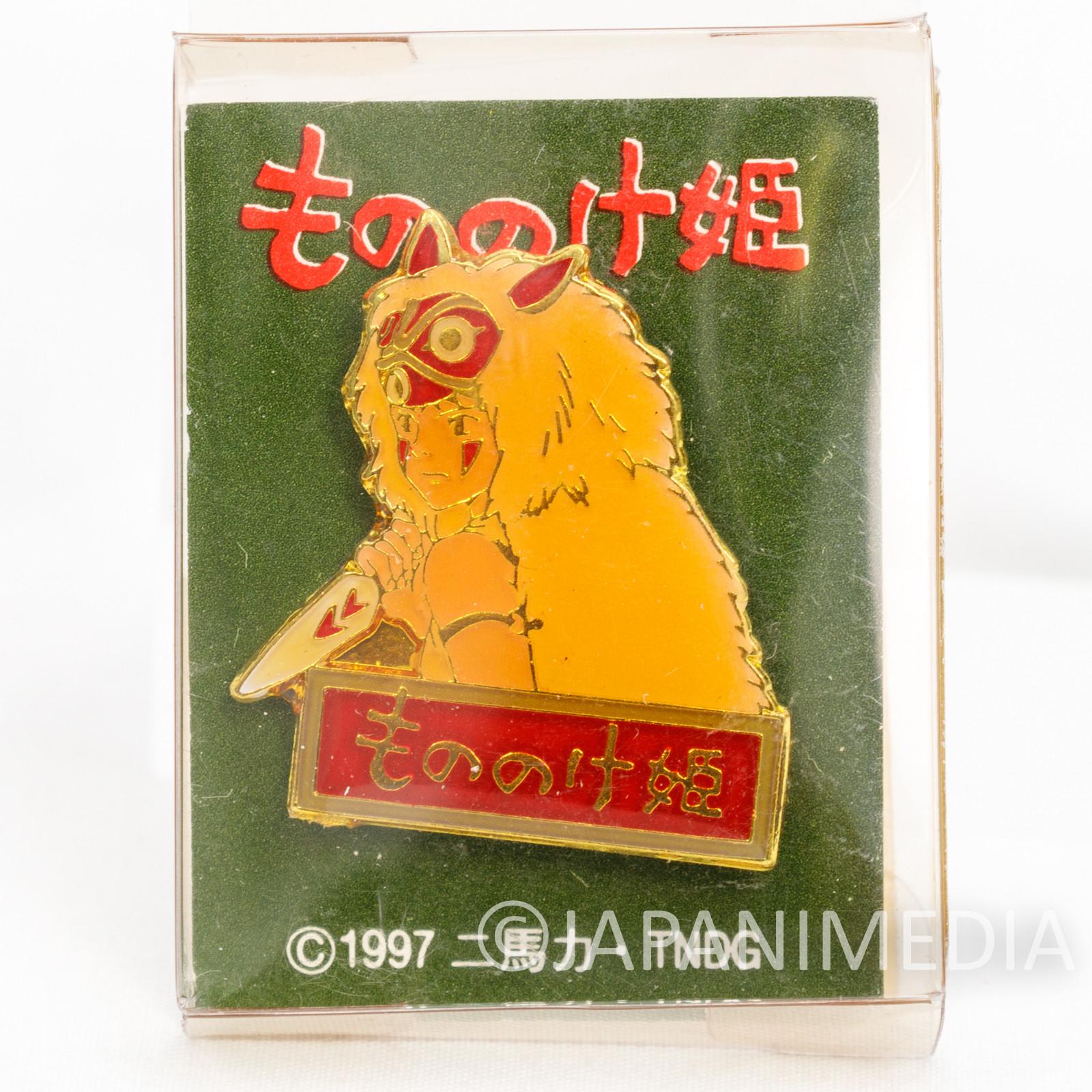 Princess Mononoke San Metal Pins Ghibli JAPAN ANIME