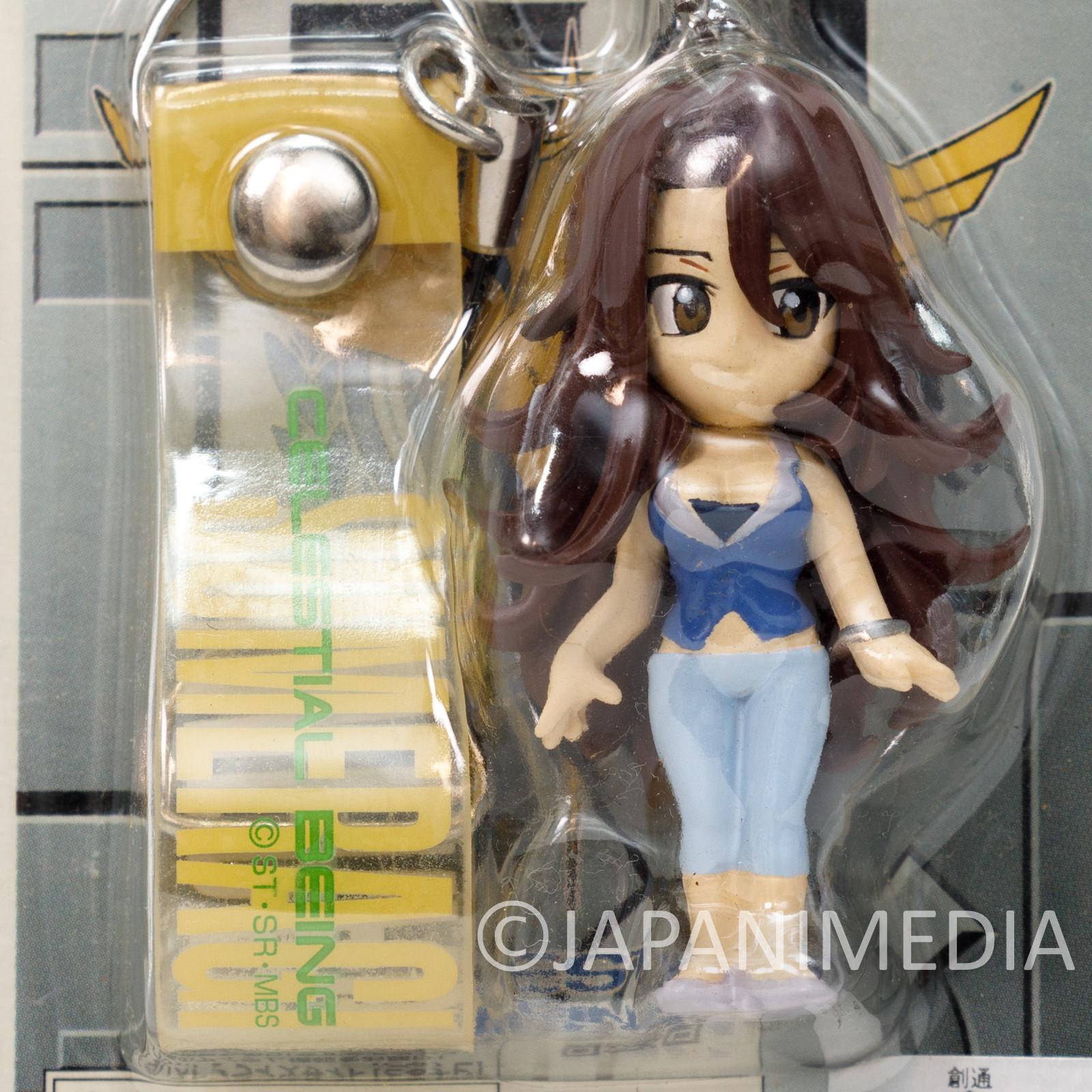 Mobile Suit Gundam 00 Sumeragi Lee Noriega Figure Strap Banpresto JAPAN
