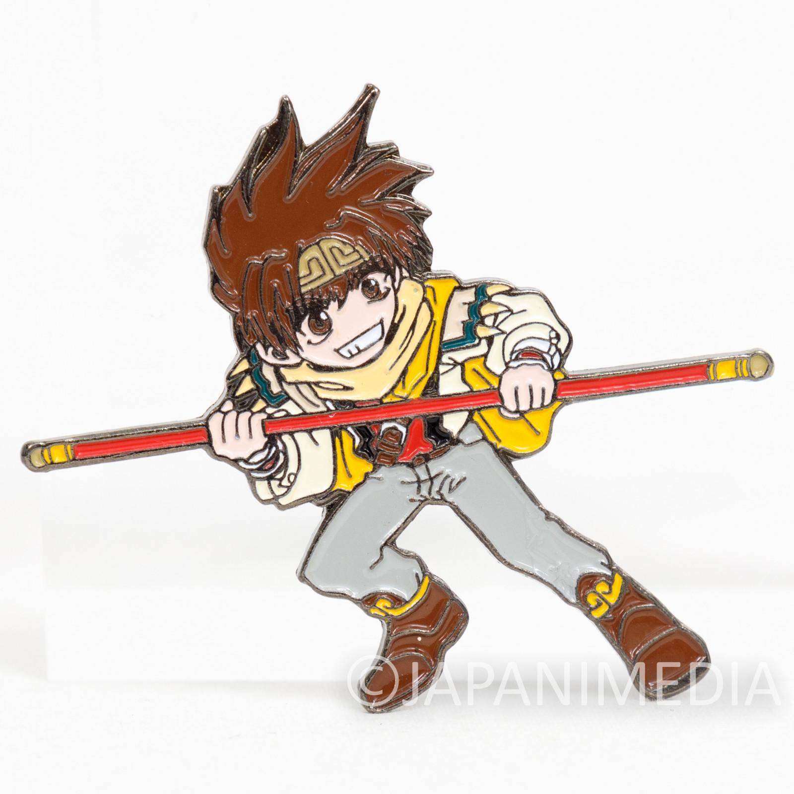 Gensomaden SAIYUKI Son Goku Metal Pins JAPAN ANIME MANGA2
