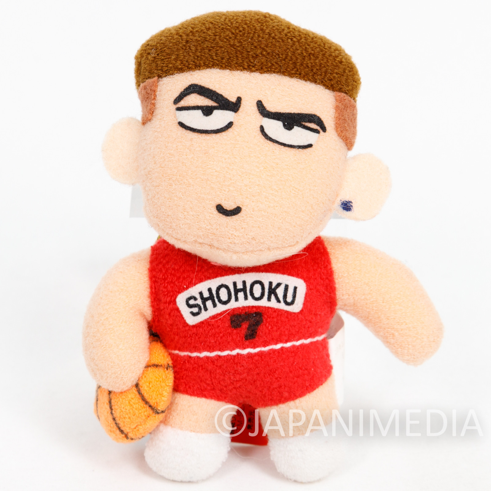 SLAM DUNK Ryota Miyagi #7 Plush Doll Strap JAPAN ANIME MANGA