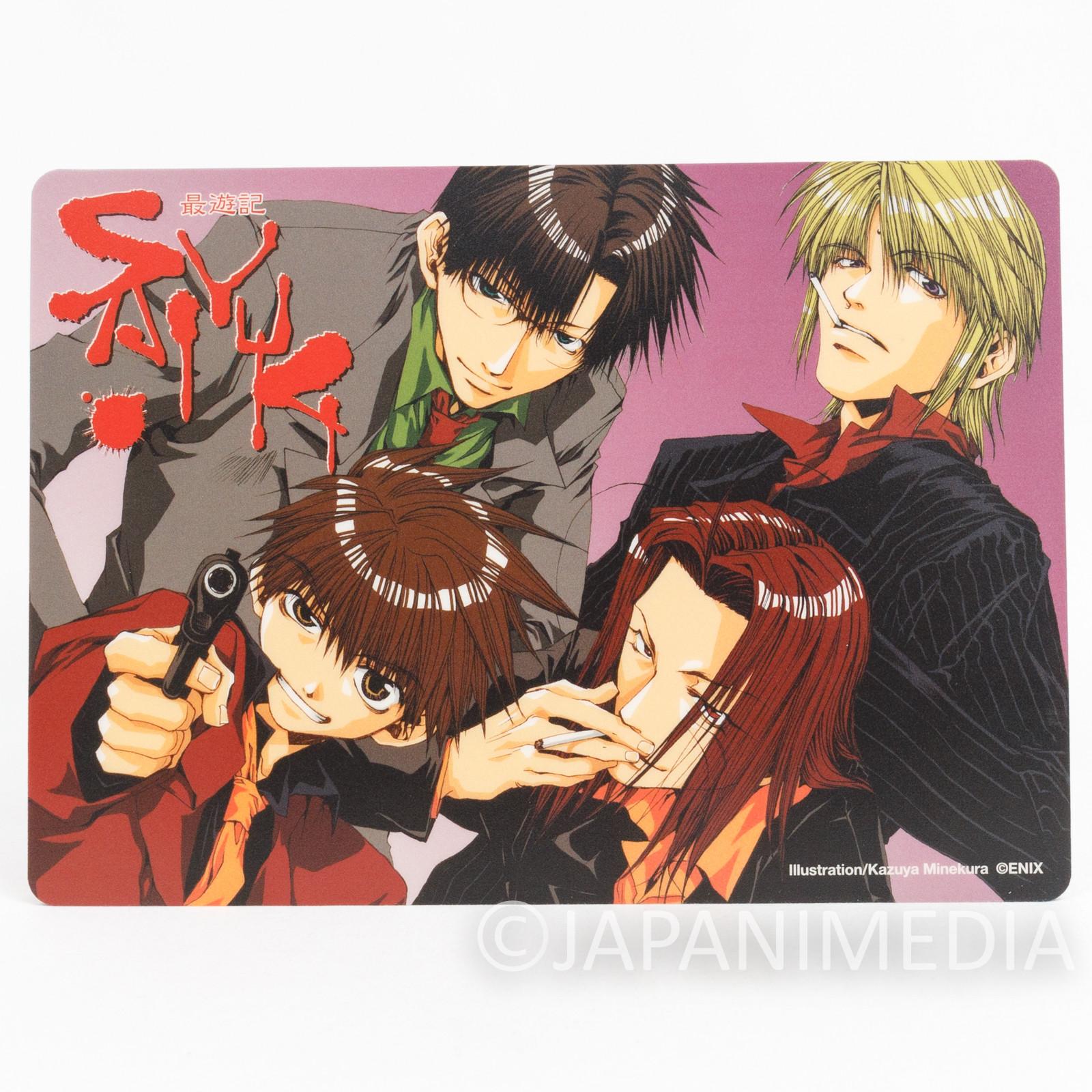 SAIYUKI Mouse pad [Sanzo / Goku / Gojyo / Hakkai] JAPAN ANIME #4