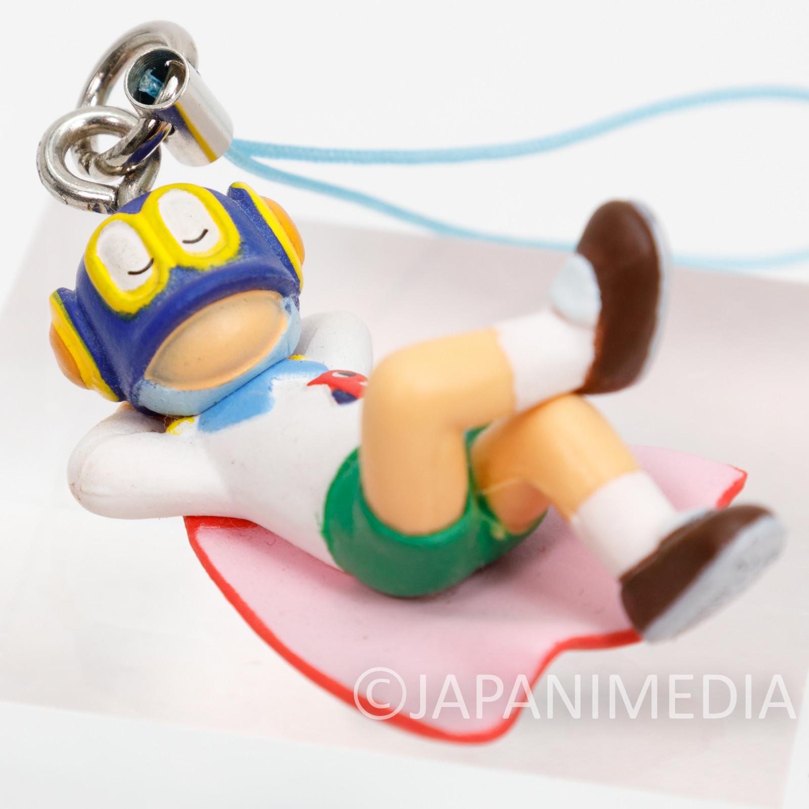 Perman Napping Figure Mascot Strap Fujiko F Fujio JAPAN ANIME MANGA
