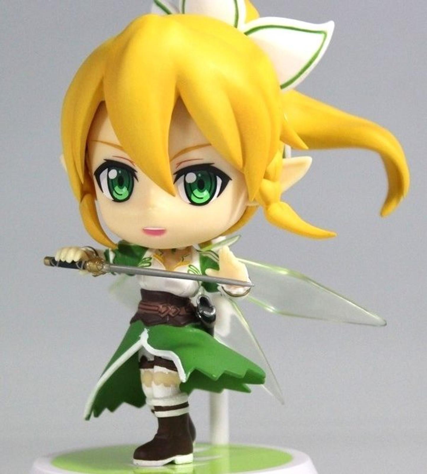Sword Art Online SAO Leafa Ichiban Kuji Kyun Chara Mini Figure JAPAN ANIME MANGA